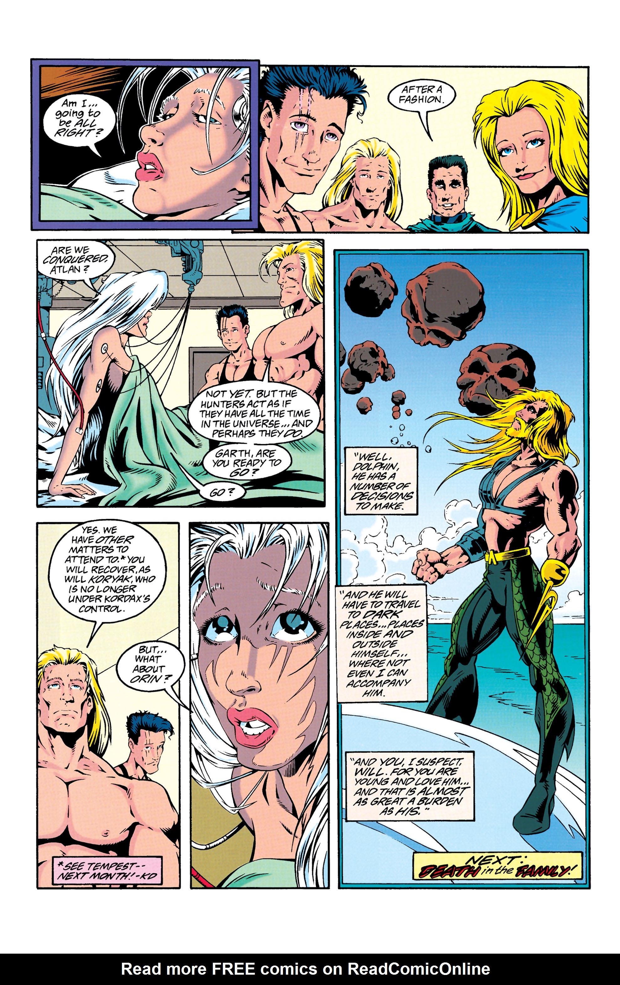 Read online Aquaman (1994) comic -  Issue #25 - 25