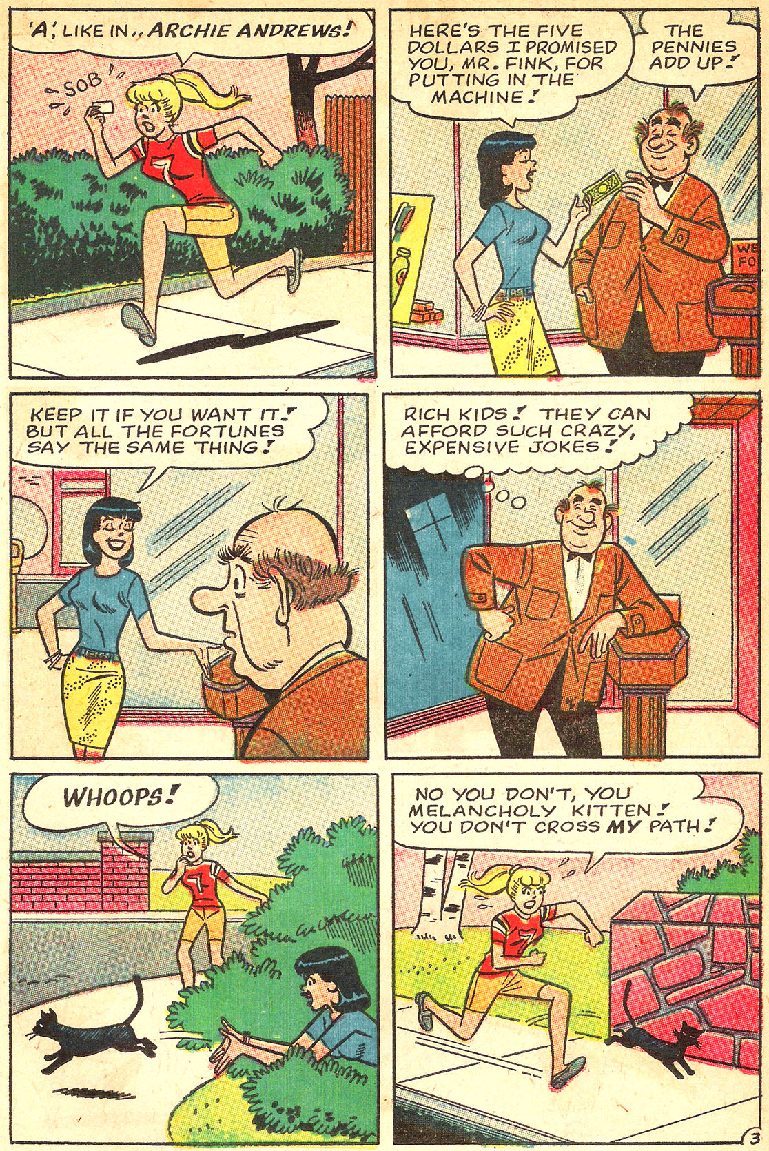 Read online Archie's Girls Betty and Veronica comic -  Issue #133 - 15