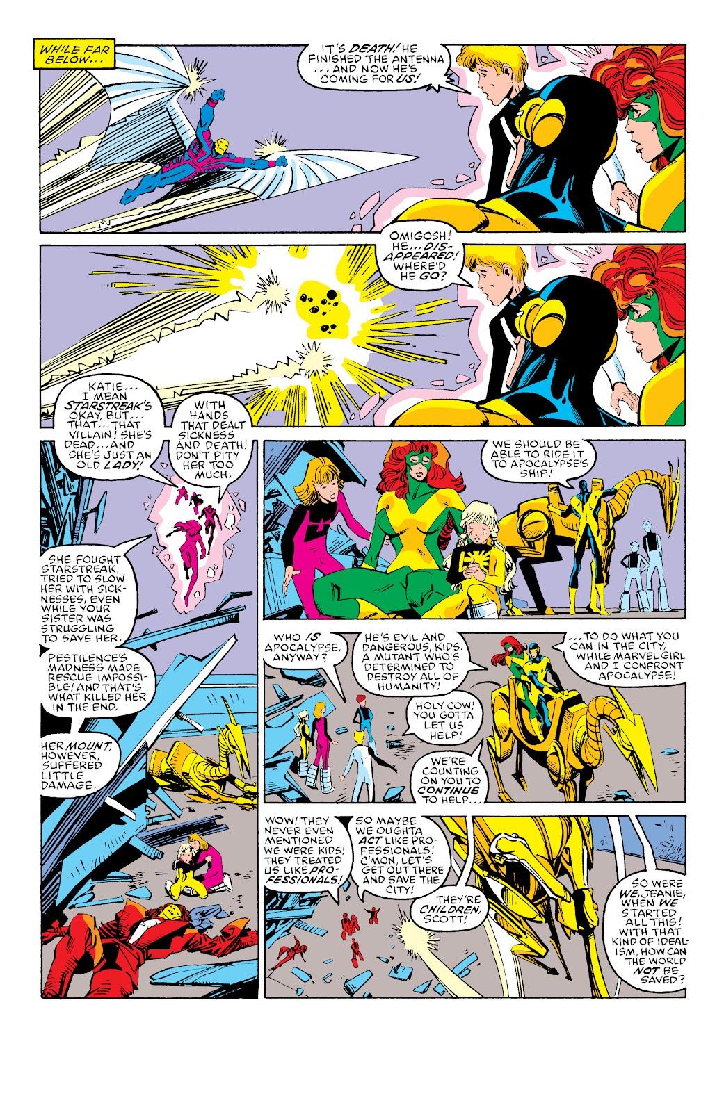 Read online X-Men Milestones: Fall of the Mutants comic -  Issue # TPB (Part 3) - 30