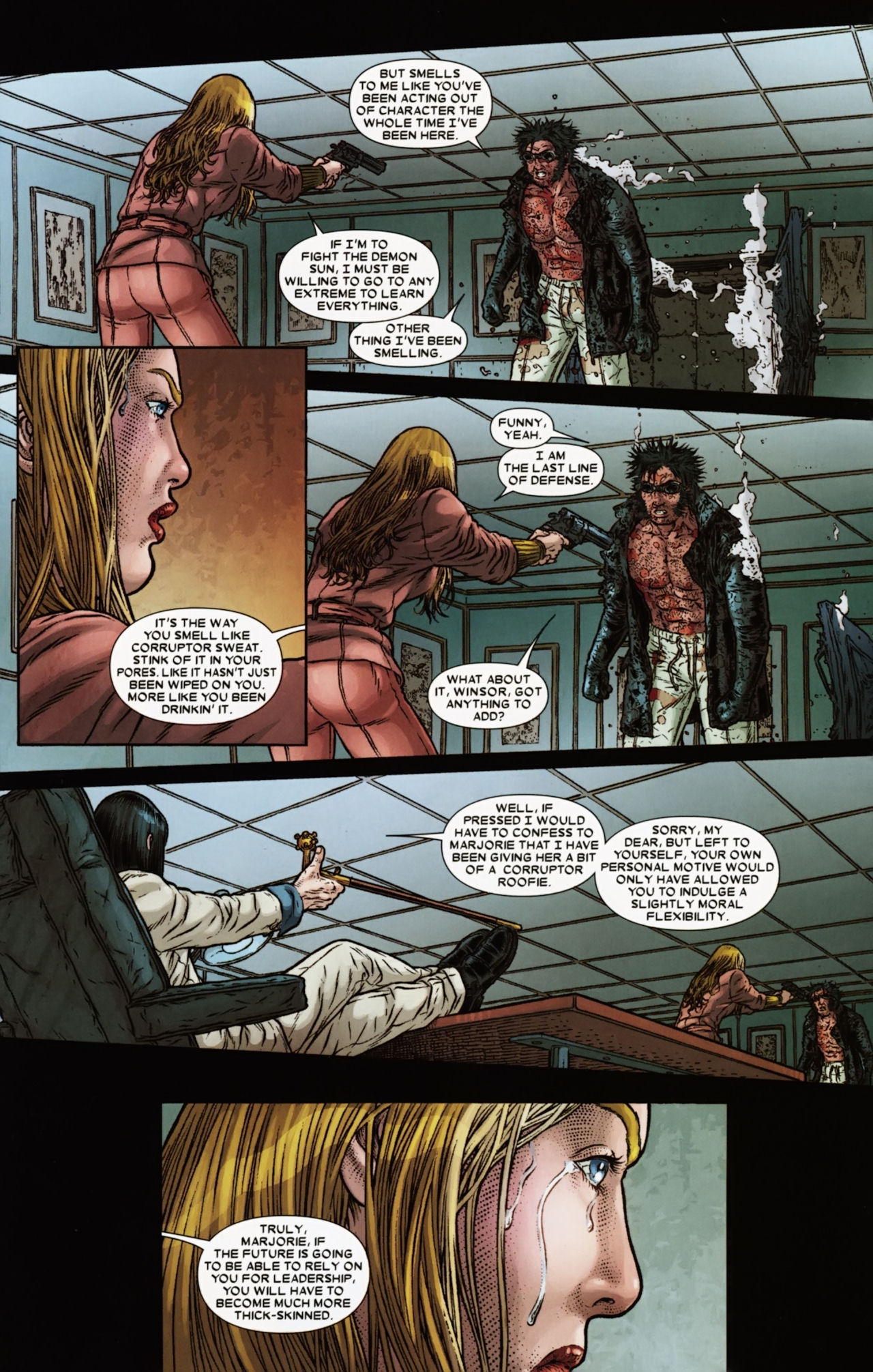 Read online Wolverine: The Best There Is comic -  Issue #6 - 15