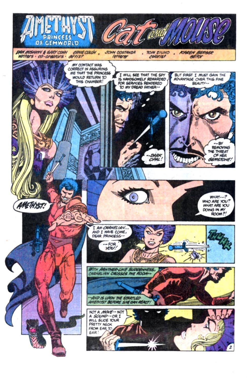 Read online Amethyst, Princess of Gemworld comic -  Issue #2 - 3
