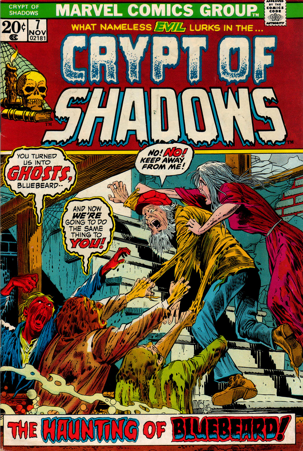 Crypt of Shadows (1973) issue 7 - Page 1