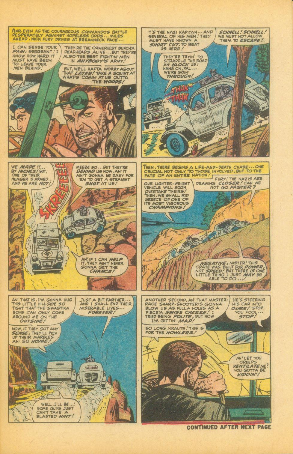Read online Sgt. Fury comic -  Issue #99 - 27