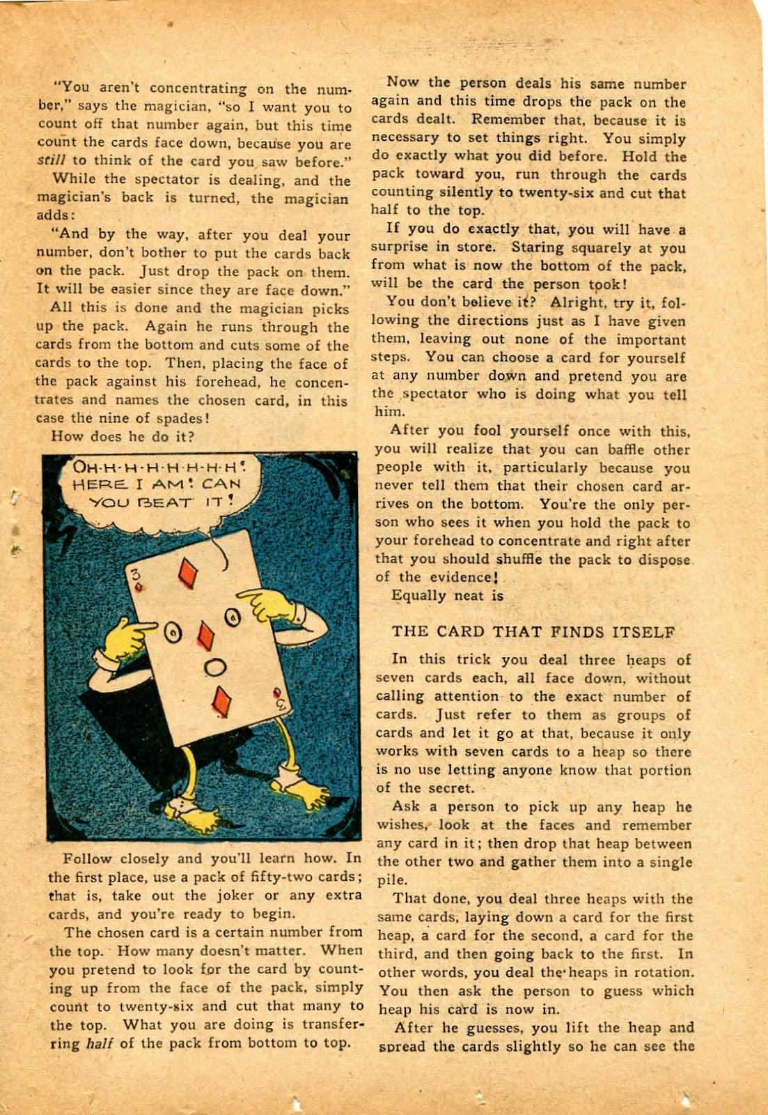 Read online Super-Magician Comics comic -  Issue #33 - 27