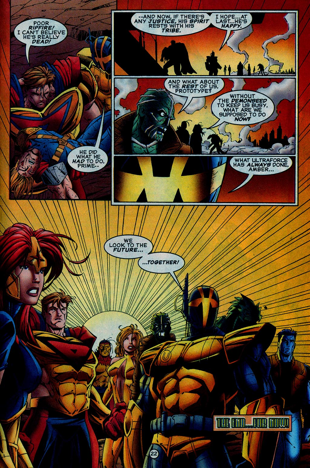 Read online UltraForce (1995) comic -  Issue #15 - 23