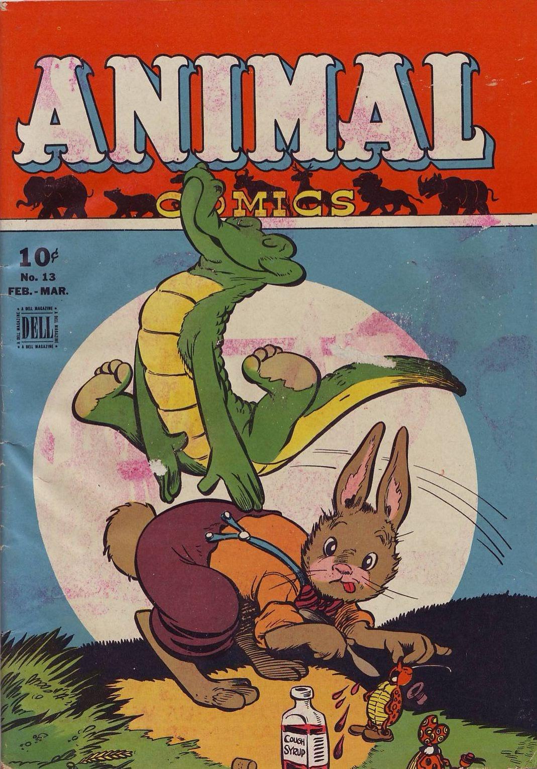Read online Animal Comics comic -  Issue #13 - 1