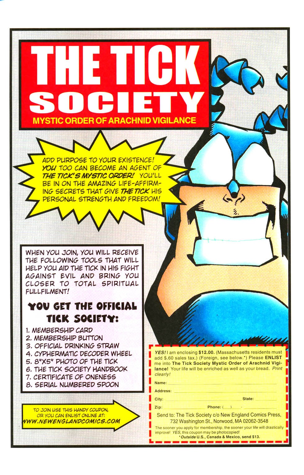 Read online The Tick: Days of Drama comic -  Issue #3 - 30