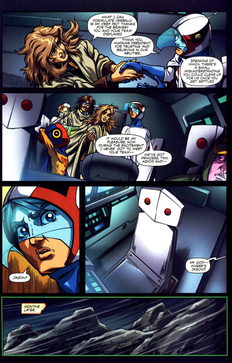 Battle of the Planets Issue #12 #14 - English 38