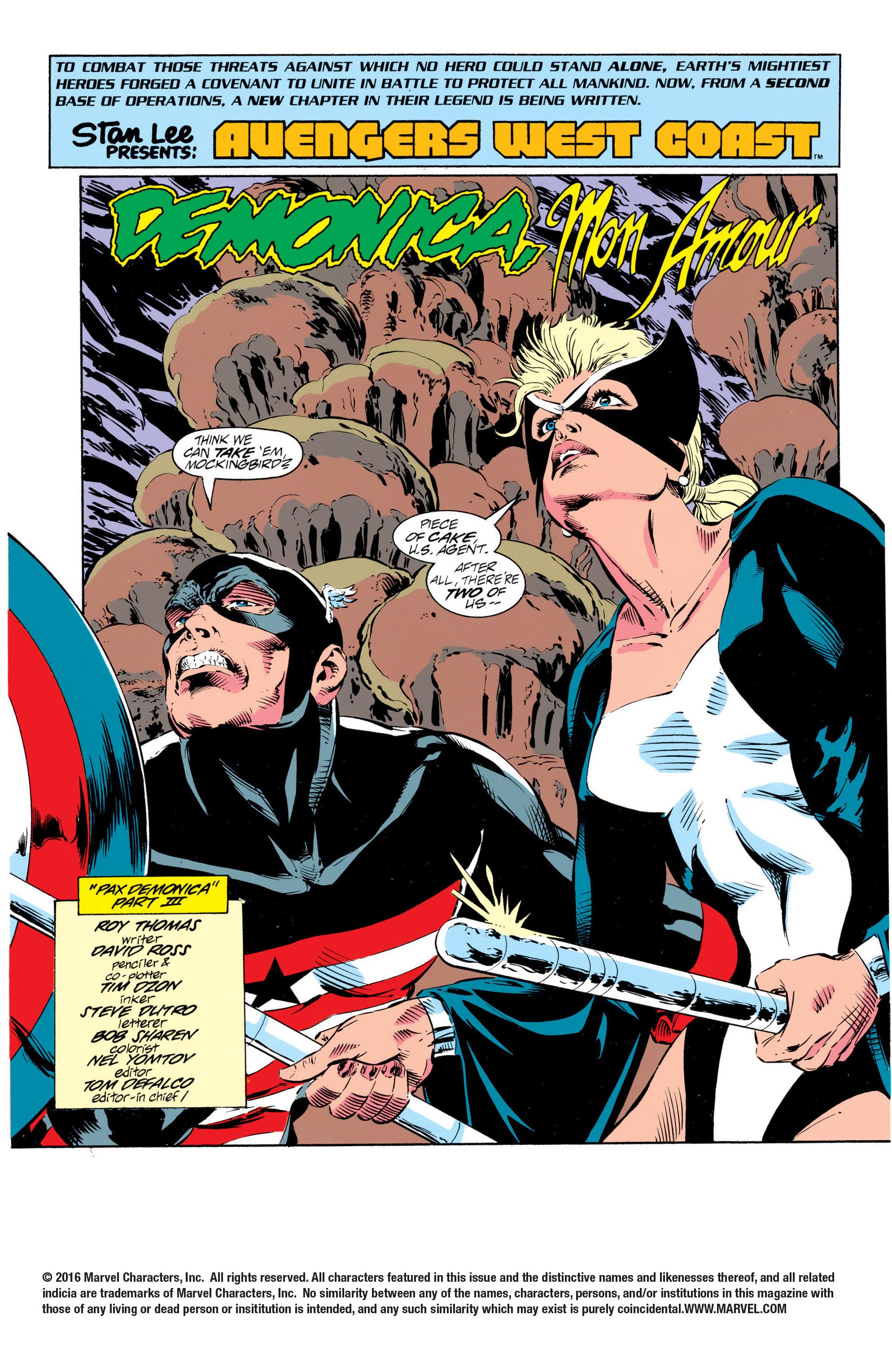 Avengers West Coast (1989) 95 Page 2