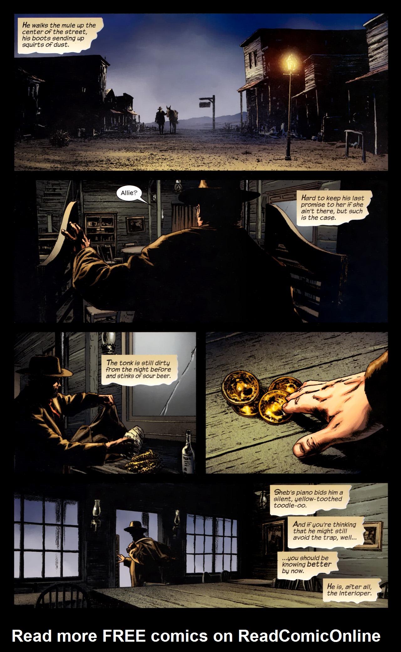 Read online Dark Tower: The Gunslinger - The Battle of Tull comic -  Issue #4 - 20