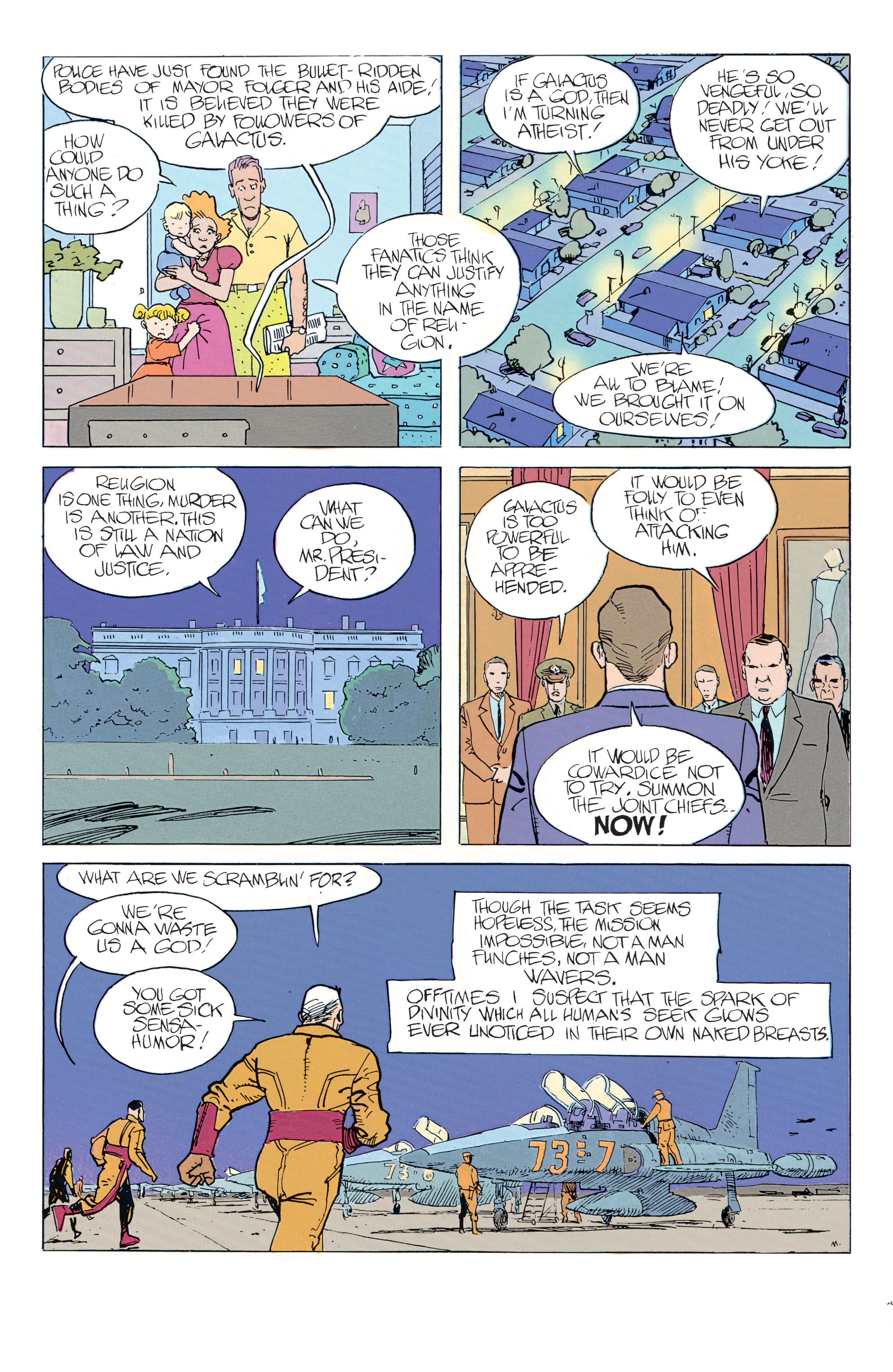 Read online Silver Surfer: Parable comic -  Issue # TPB - 45