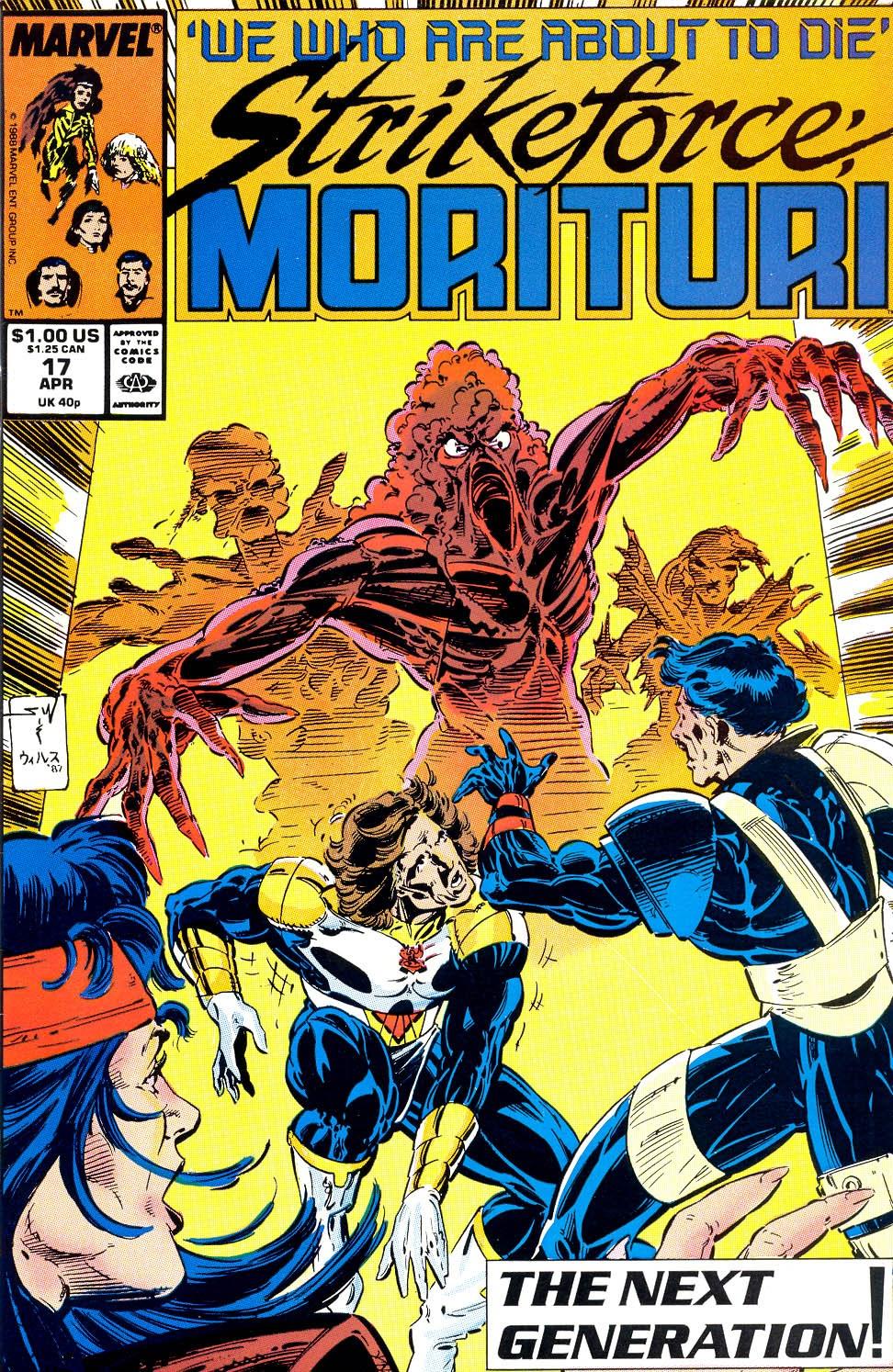 Strikeforce: Morituri 17 Page 1