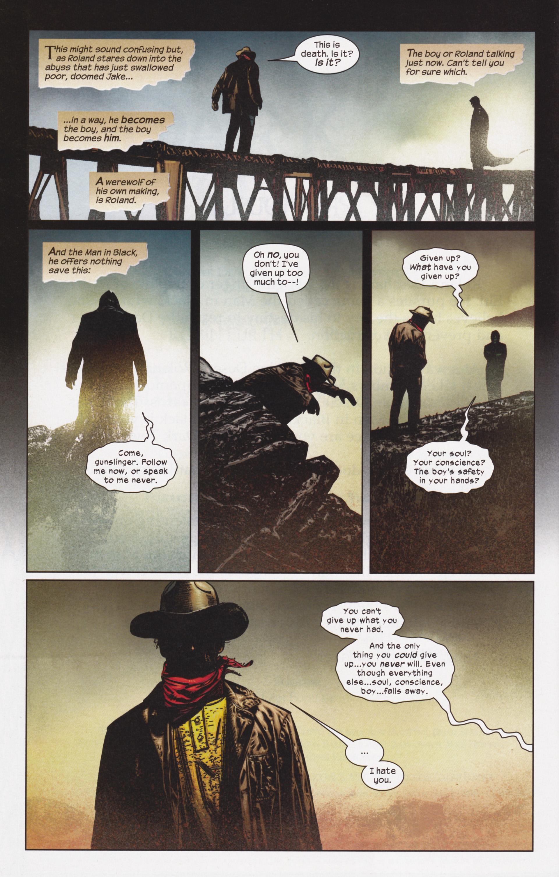 Read online Dark Tower: The Gunslinger - The Man in Black comic -  Issue #5 - 3