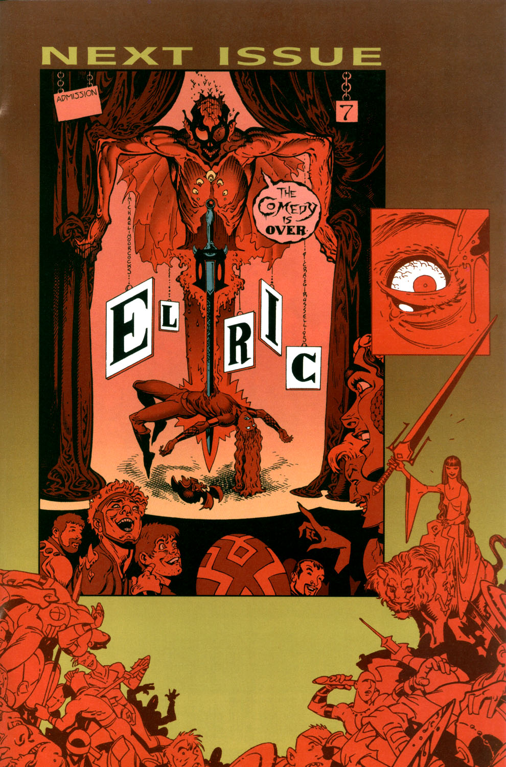 Read online Elric: Stormbringer comic -  Issue #6 - 31