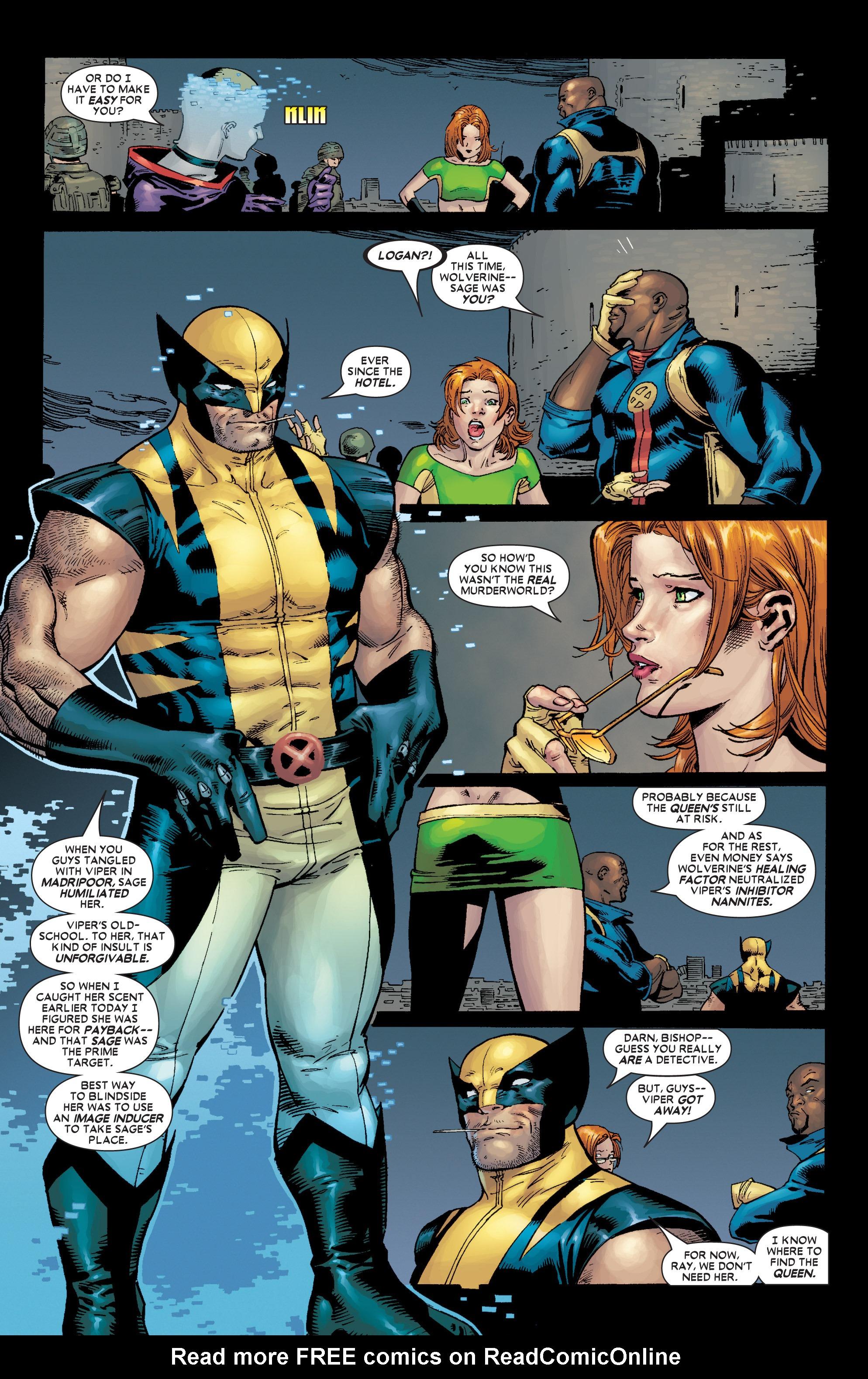 Read online Uncanny X-Men (1963) comic -  Issue #449 - 9