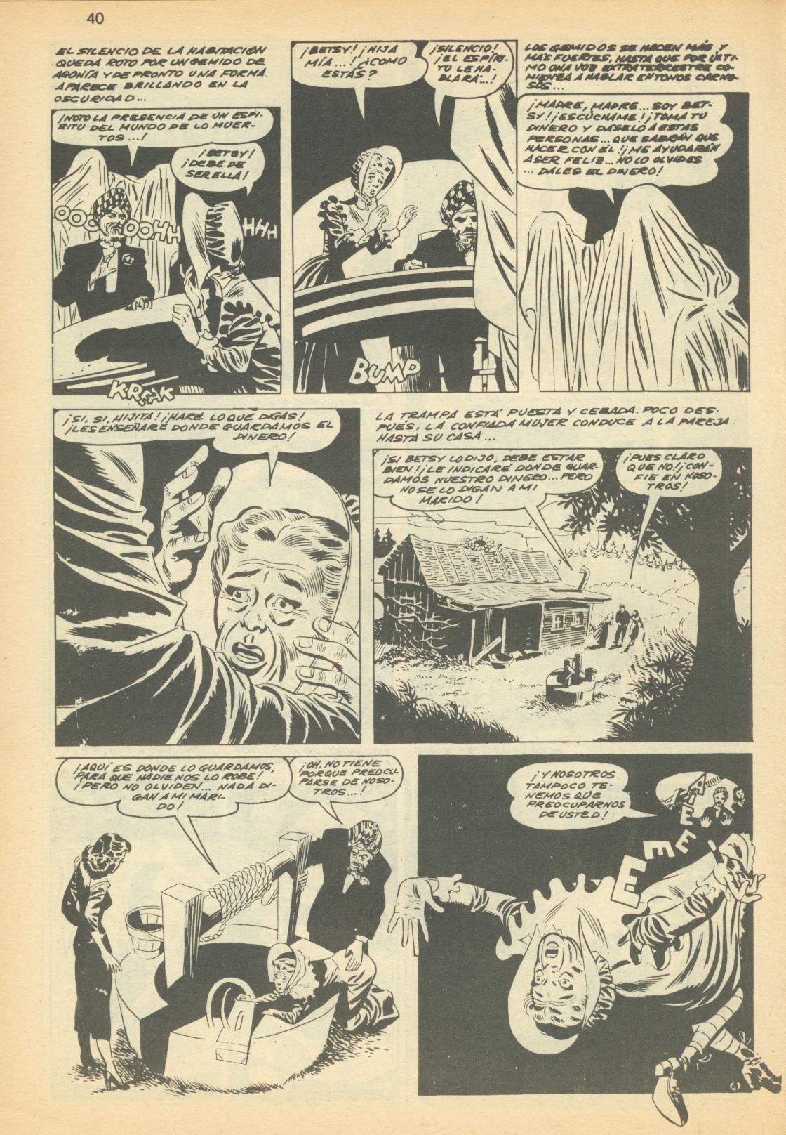 Read online Adventures into Weird Worlds comic -  Issue #12 - 13