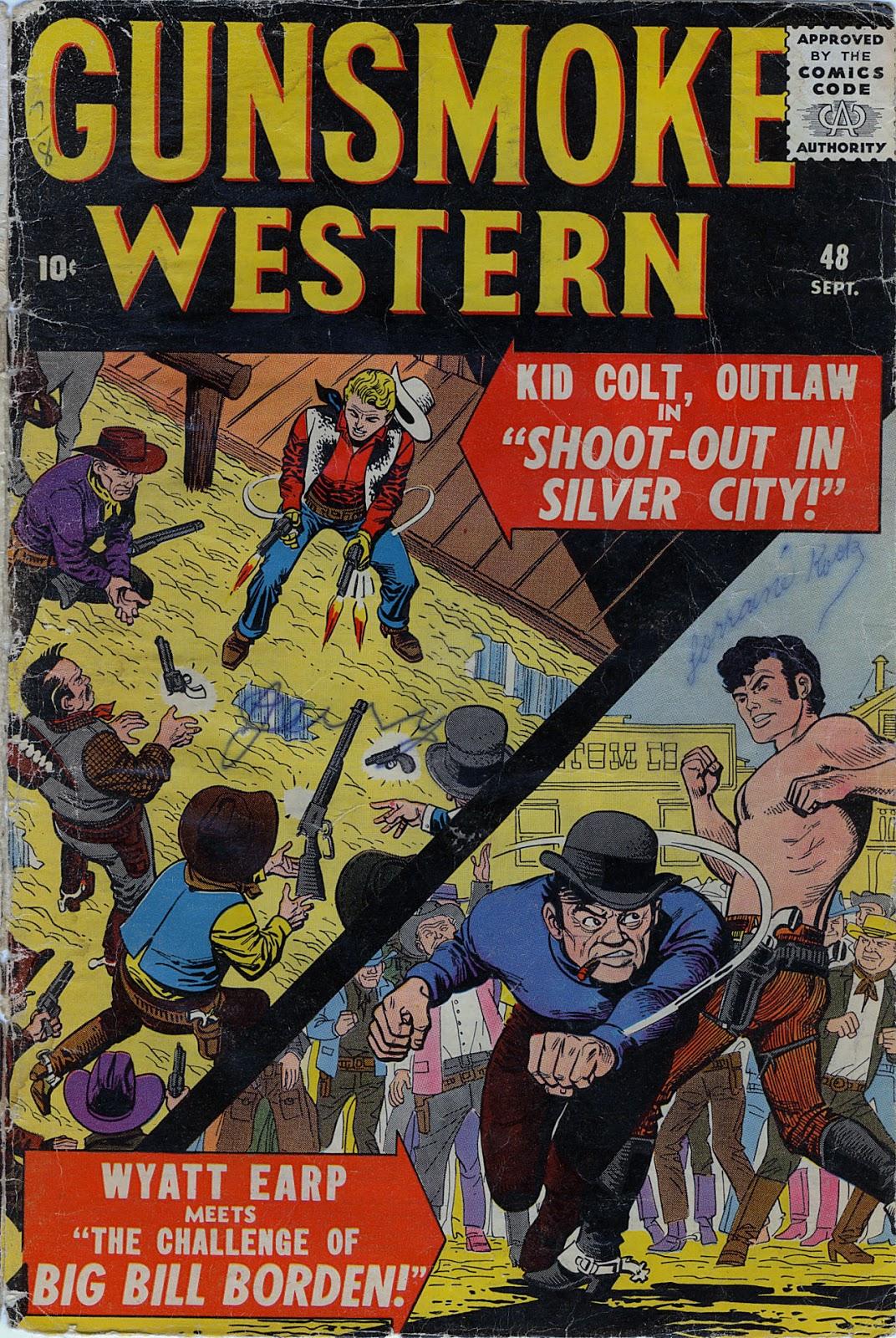 Gunsmoke Western issue 48 - Page 1