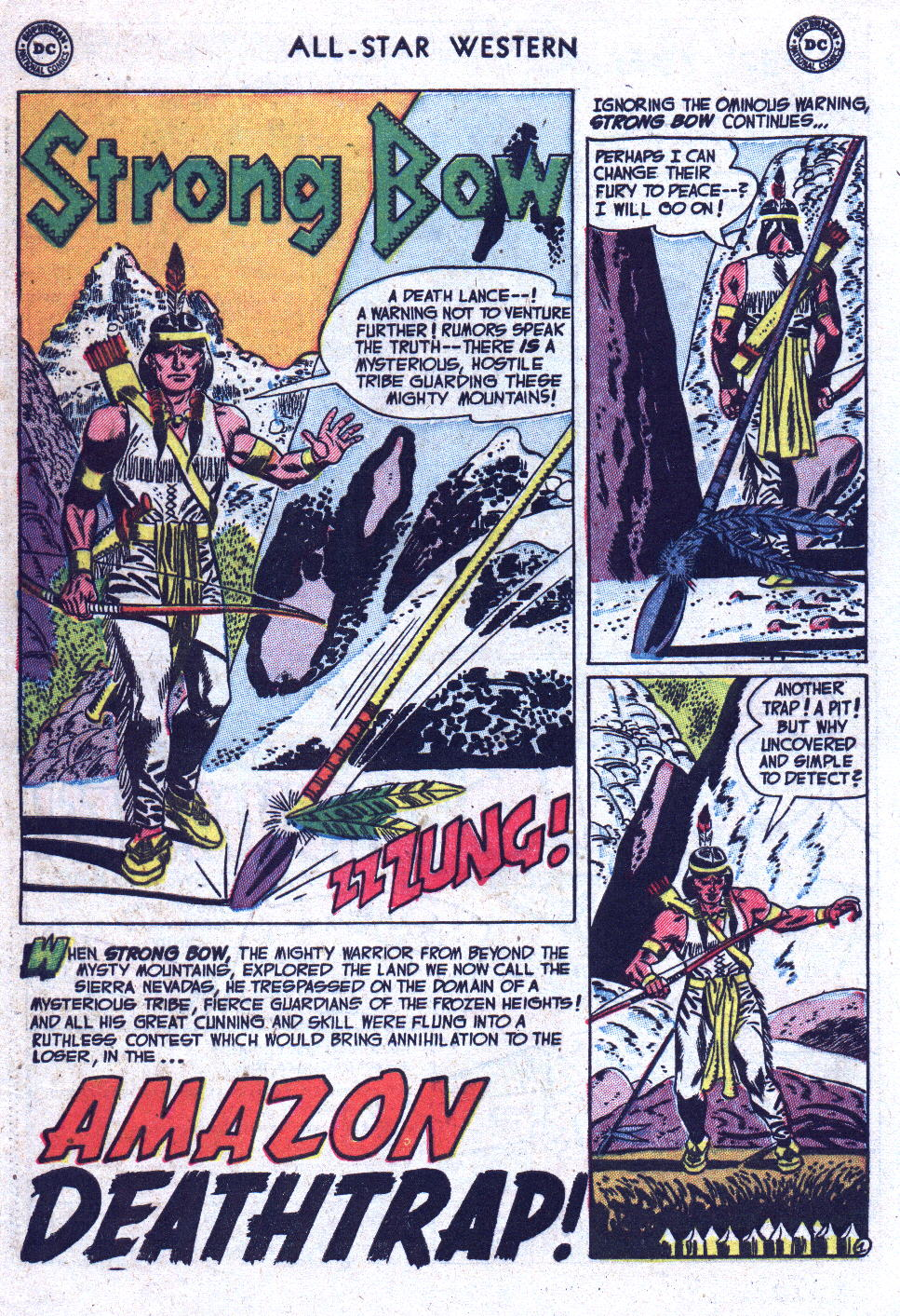 Read online All-Star Western (1951) comic -  Issue #71 - 28