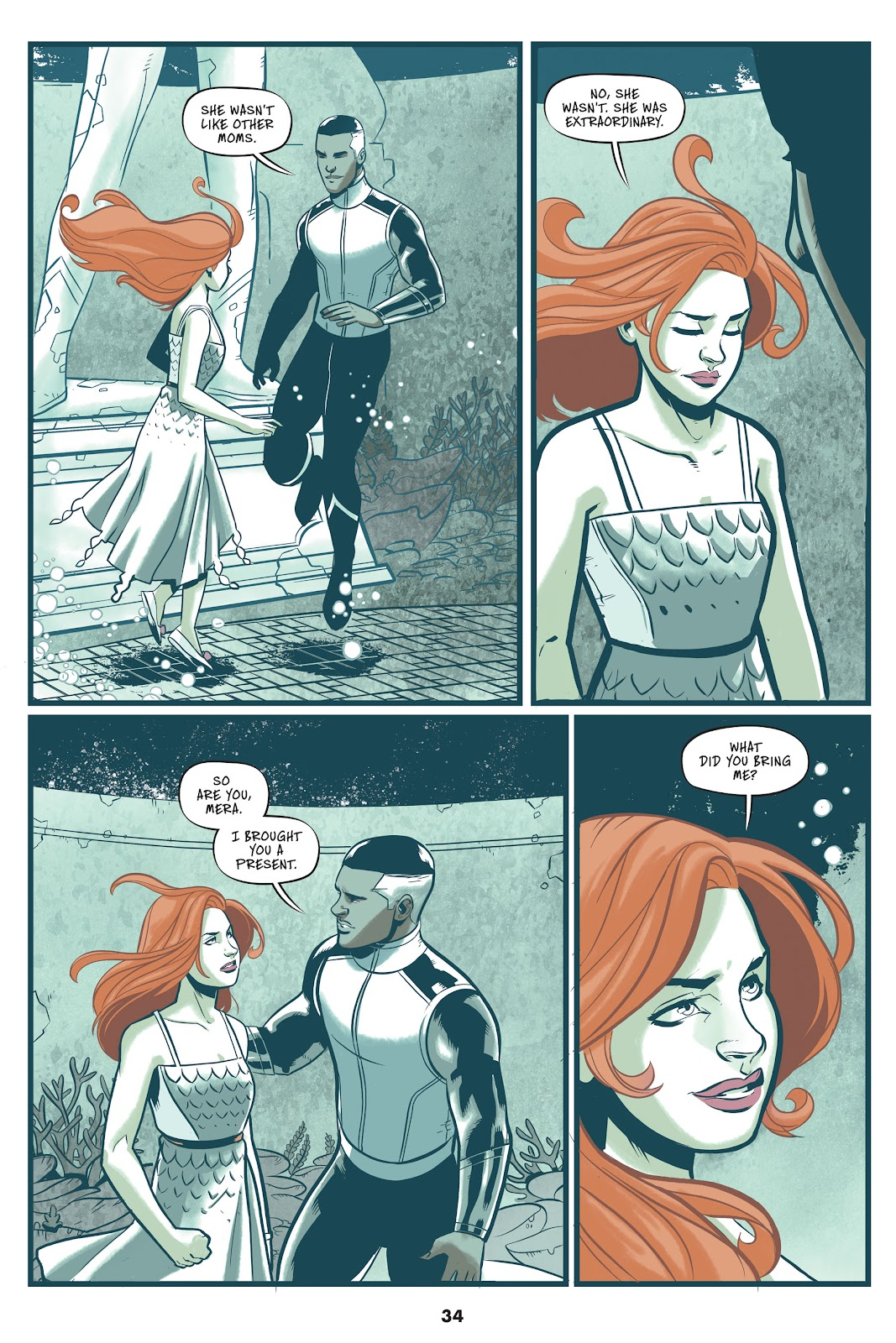 Read online Mera: Tidebreaker comic -  Issue # TPB (Part 1) - 34