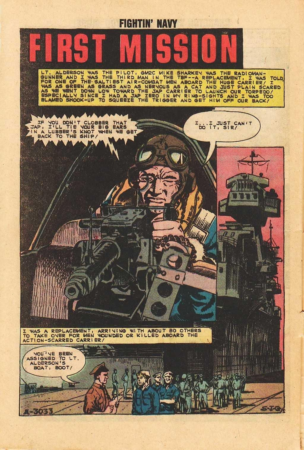 Read online Fightin' Navy comic -  Issue #113 - 28