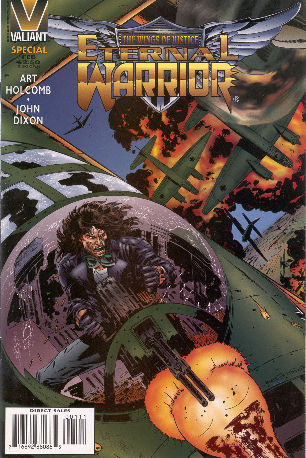 Read online Eternal Warrior (1992) comic -  Issue # _Special - 1