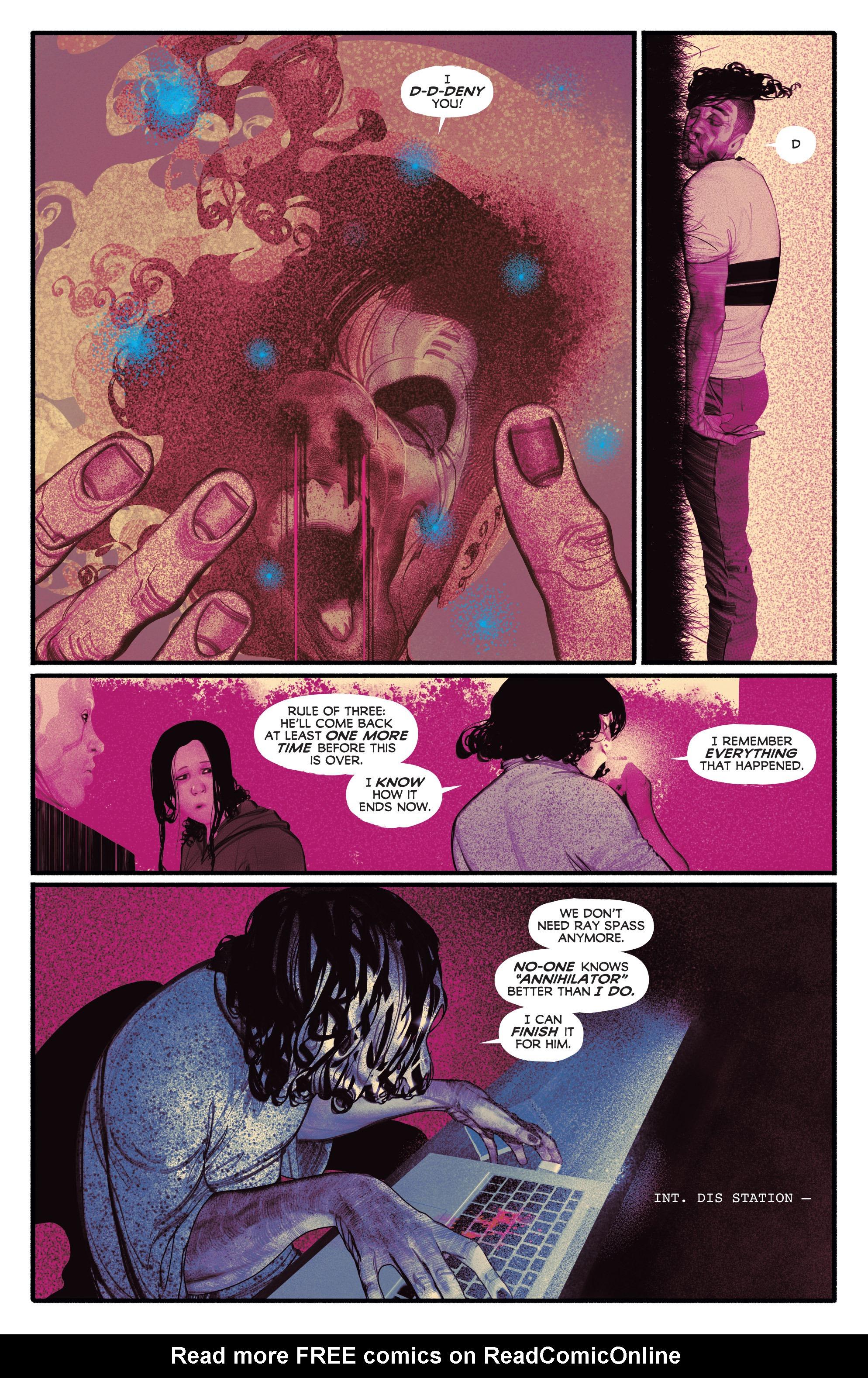 Read online Annihilator comic -  Issue #6 - 13