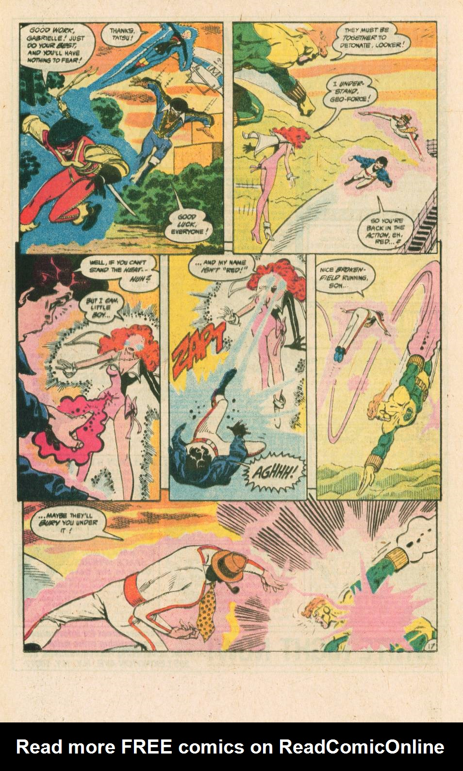 Read online Adventures of the Outsiders comic -  Issue #40 - 18