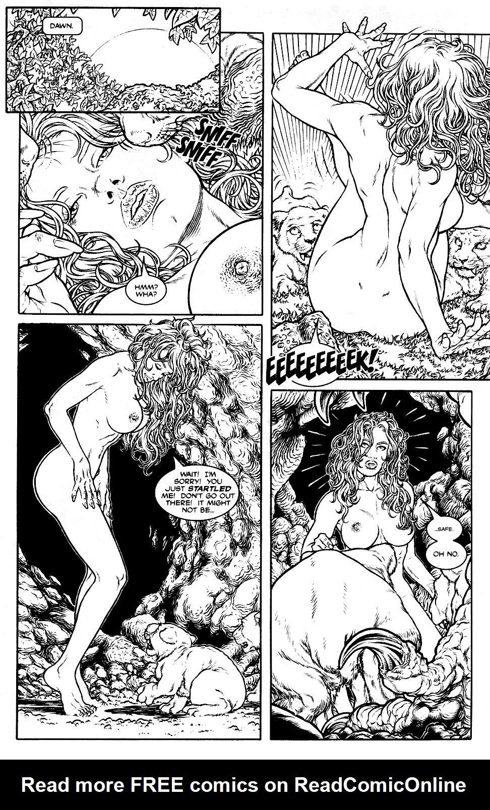 Read online Jungle Fantasy (2002) comic -  Issue #1 - 5