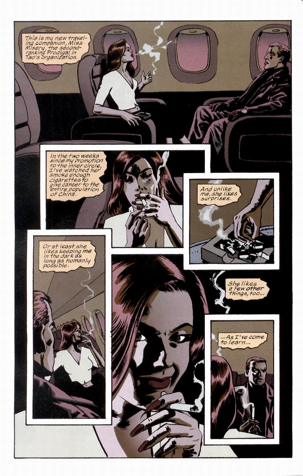 Read online Sleeper comic -  Issue #3 - 7
