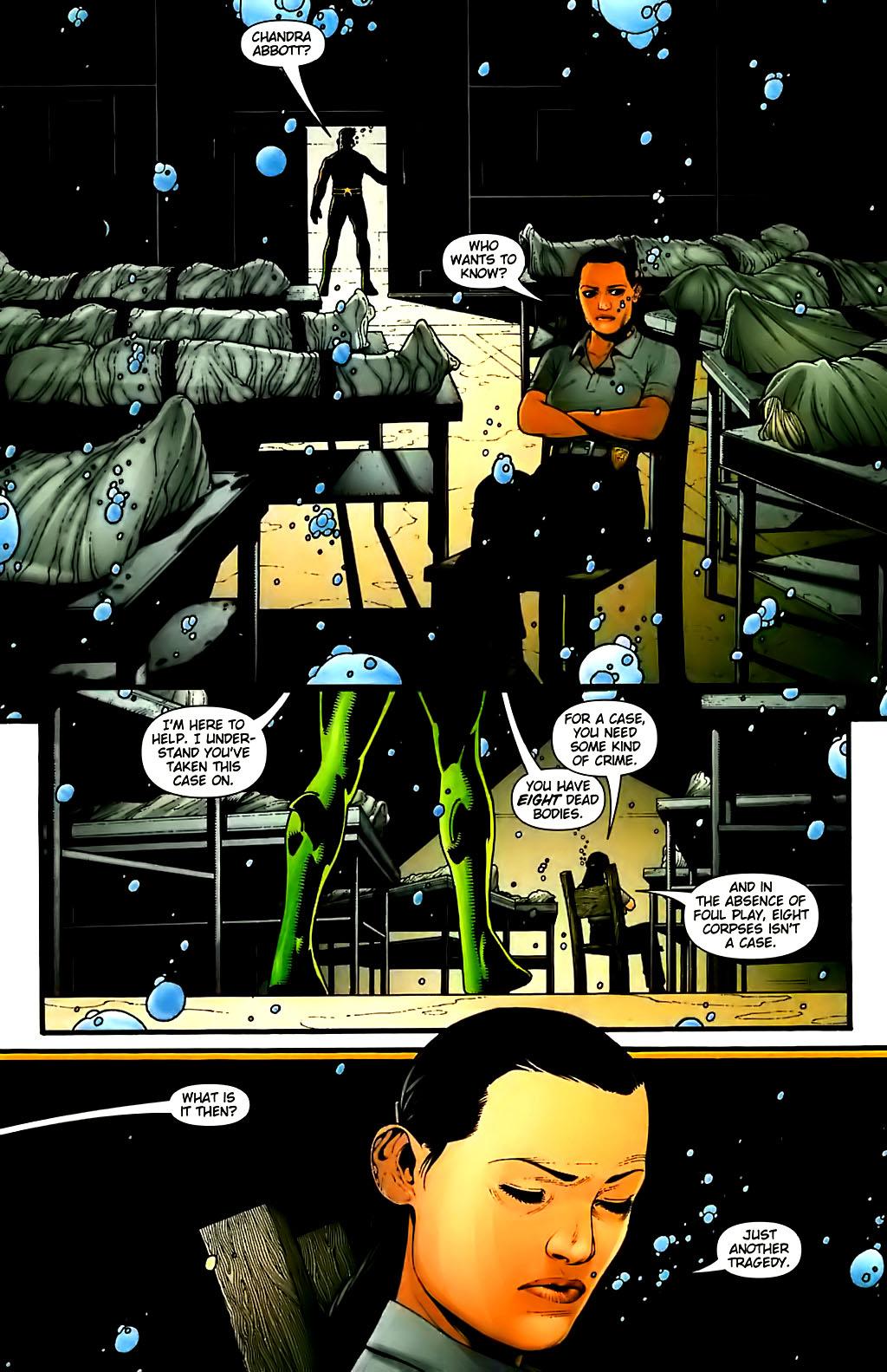 Read online Aquaman (2003) comic -  Issue #30 - 7