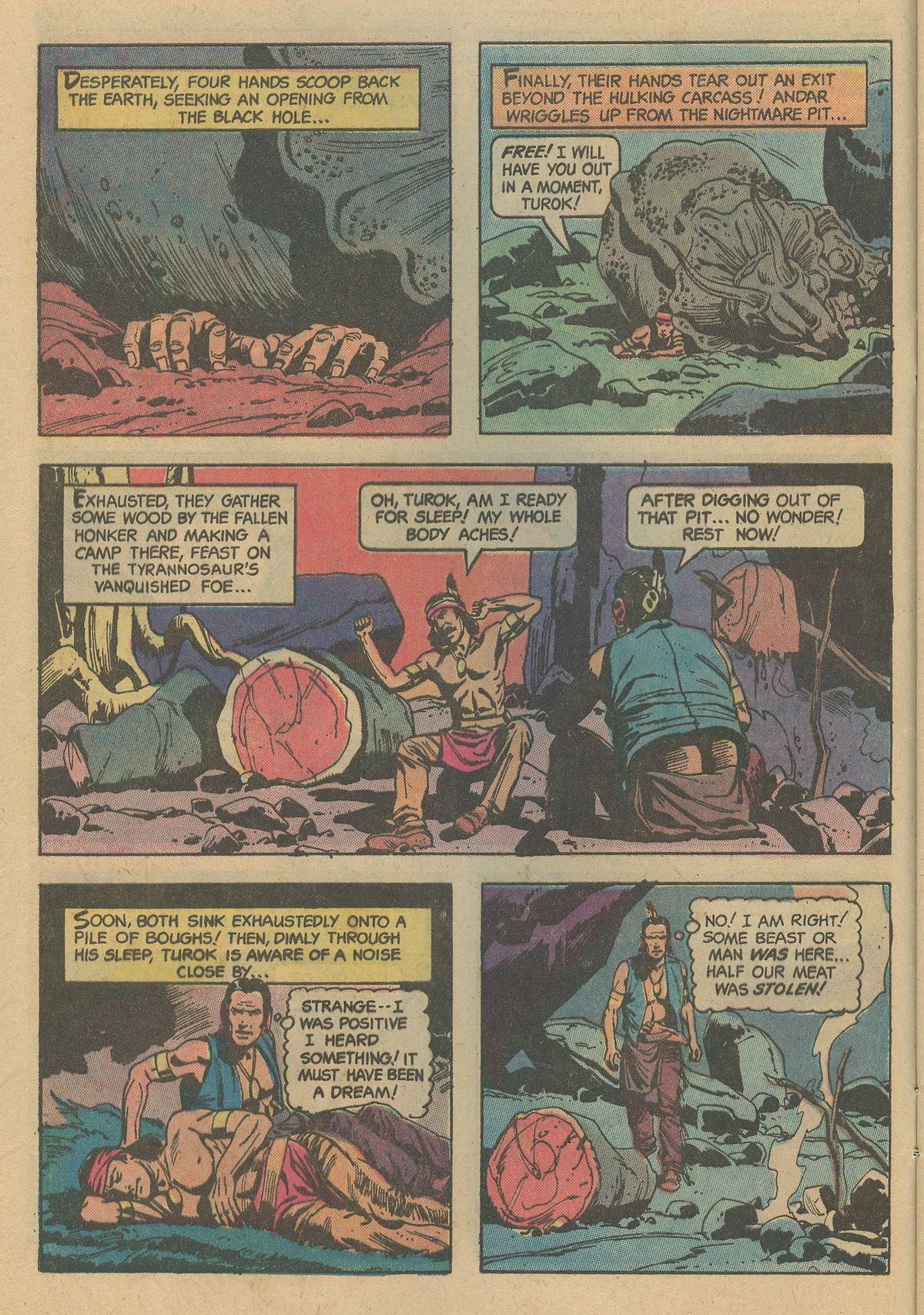 Read online Turok, Son of Stone comic -  Issue #128 - 8