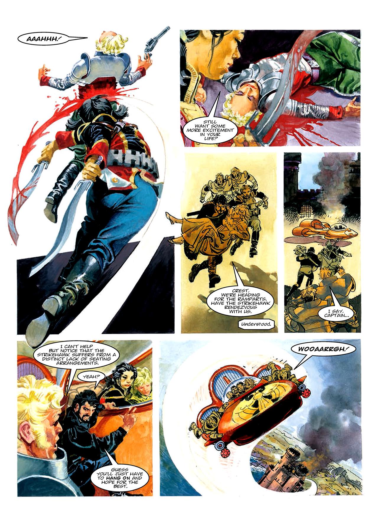 Read online Nikolai Dante comic -  Issue # TPB 10 - 67