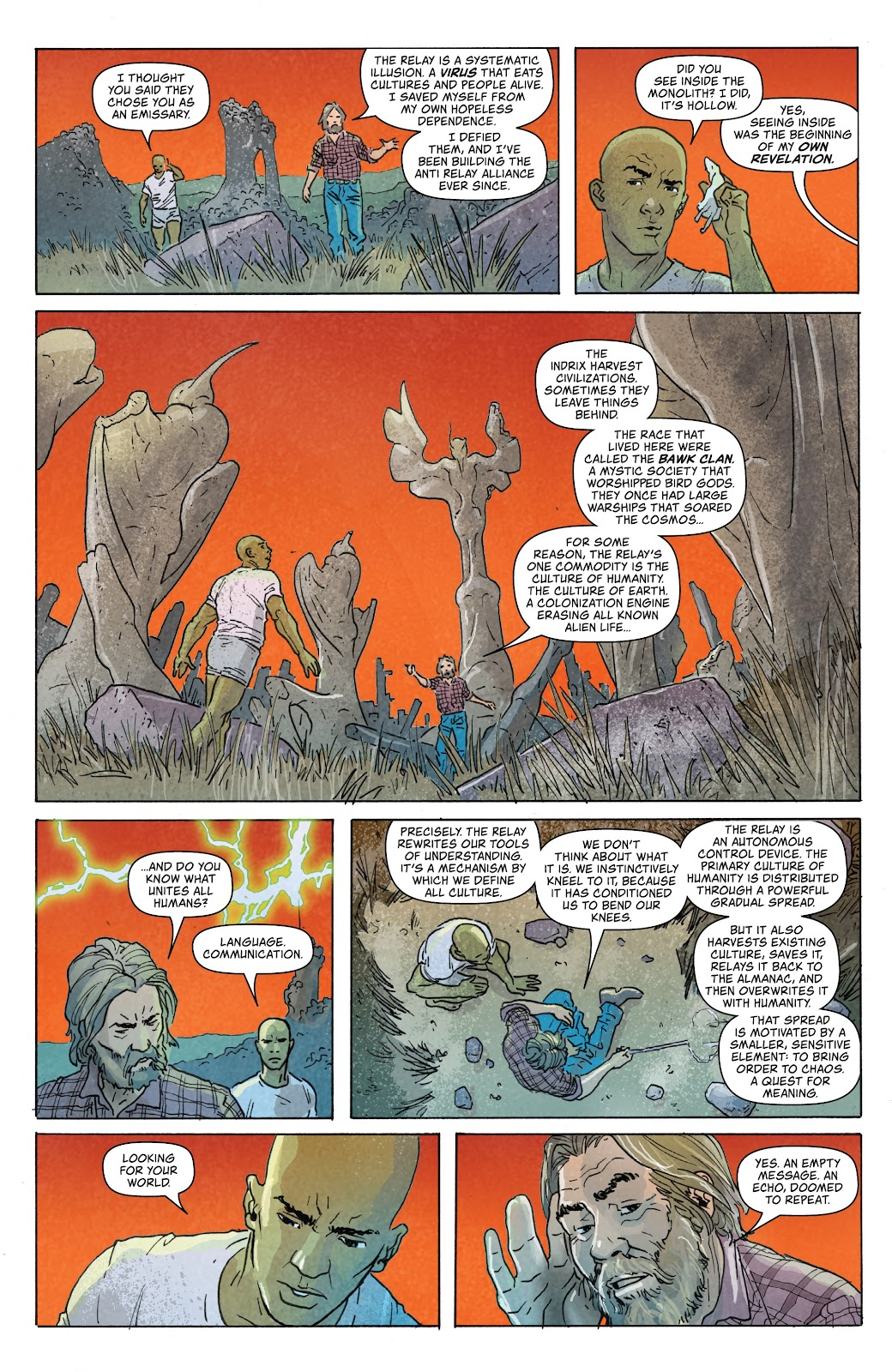 Read online Relay comic -  Issue #5 - 10