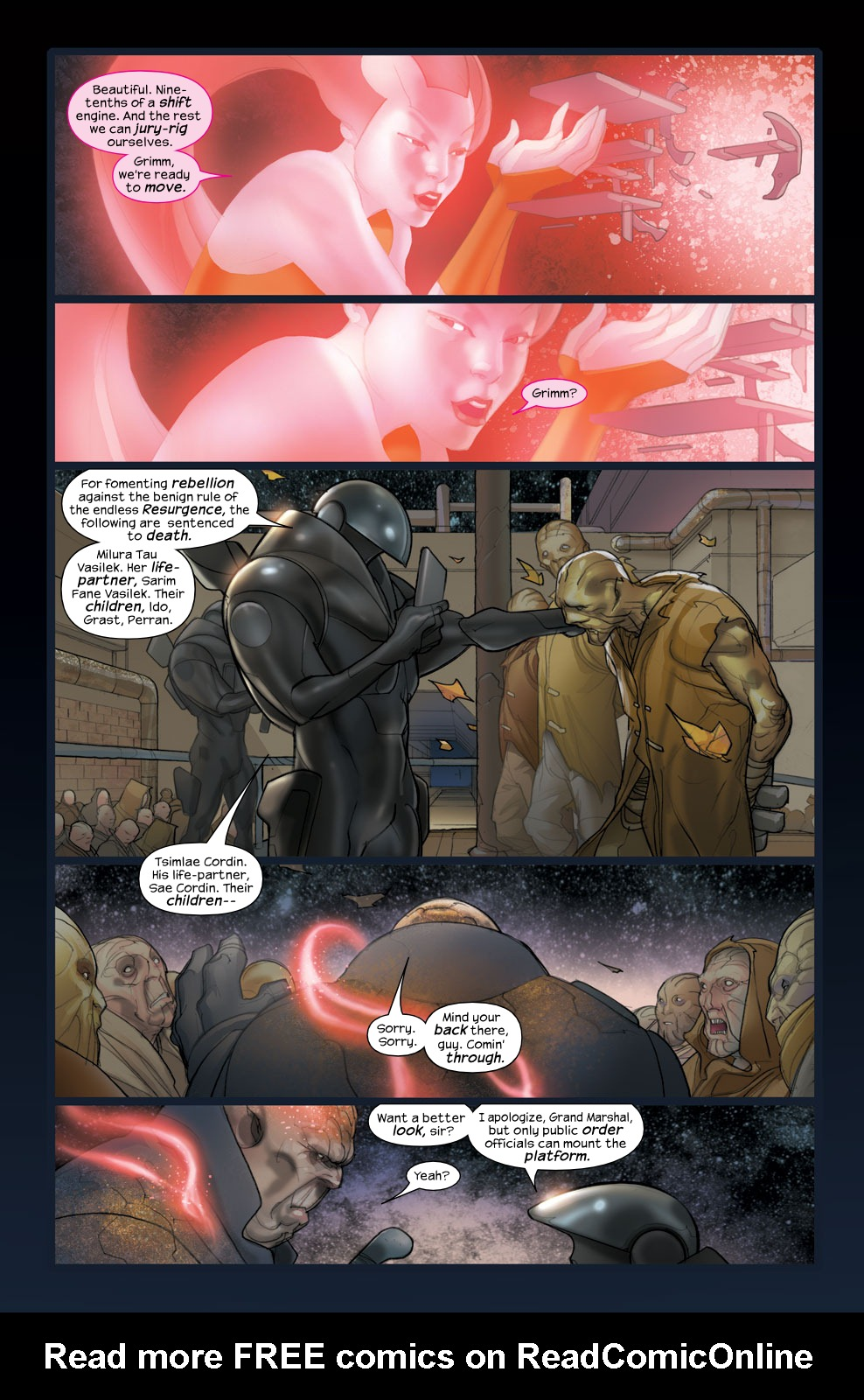 Read online Ultimate Fantastic Four (2004) comic -  Issue #36 - 19