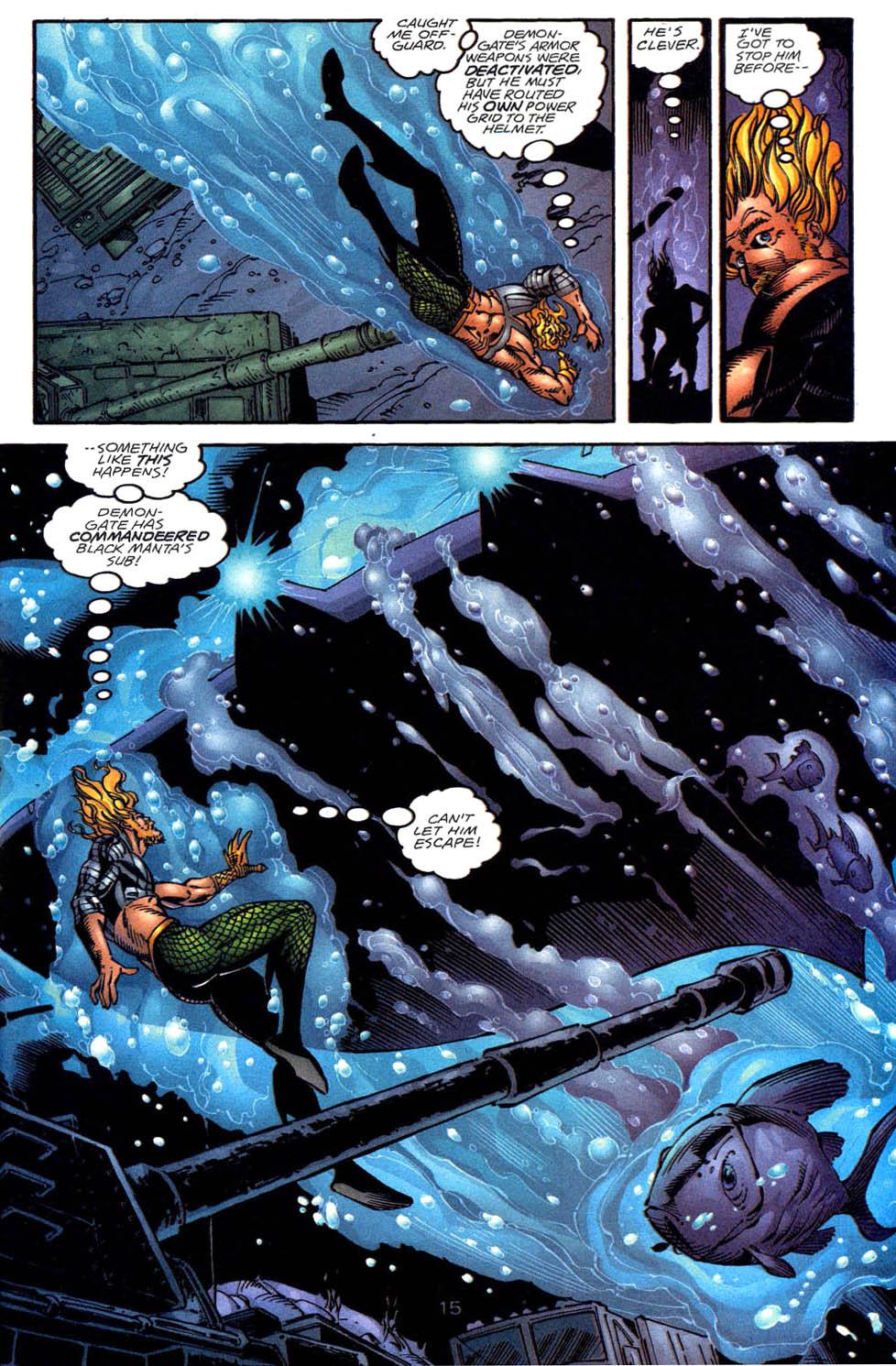 Read online Aquaman (1994) comic -  Issue #58 - 15