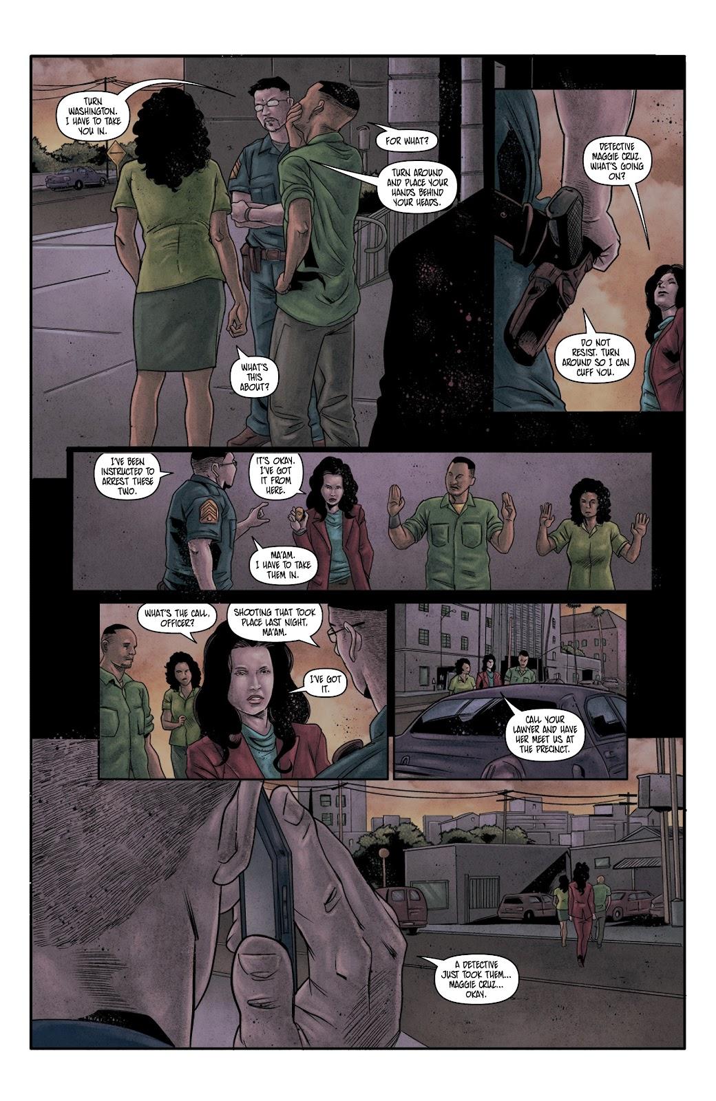 Read online Vindication comic -  Issue #4 - 21