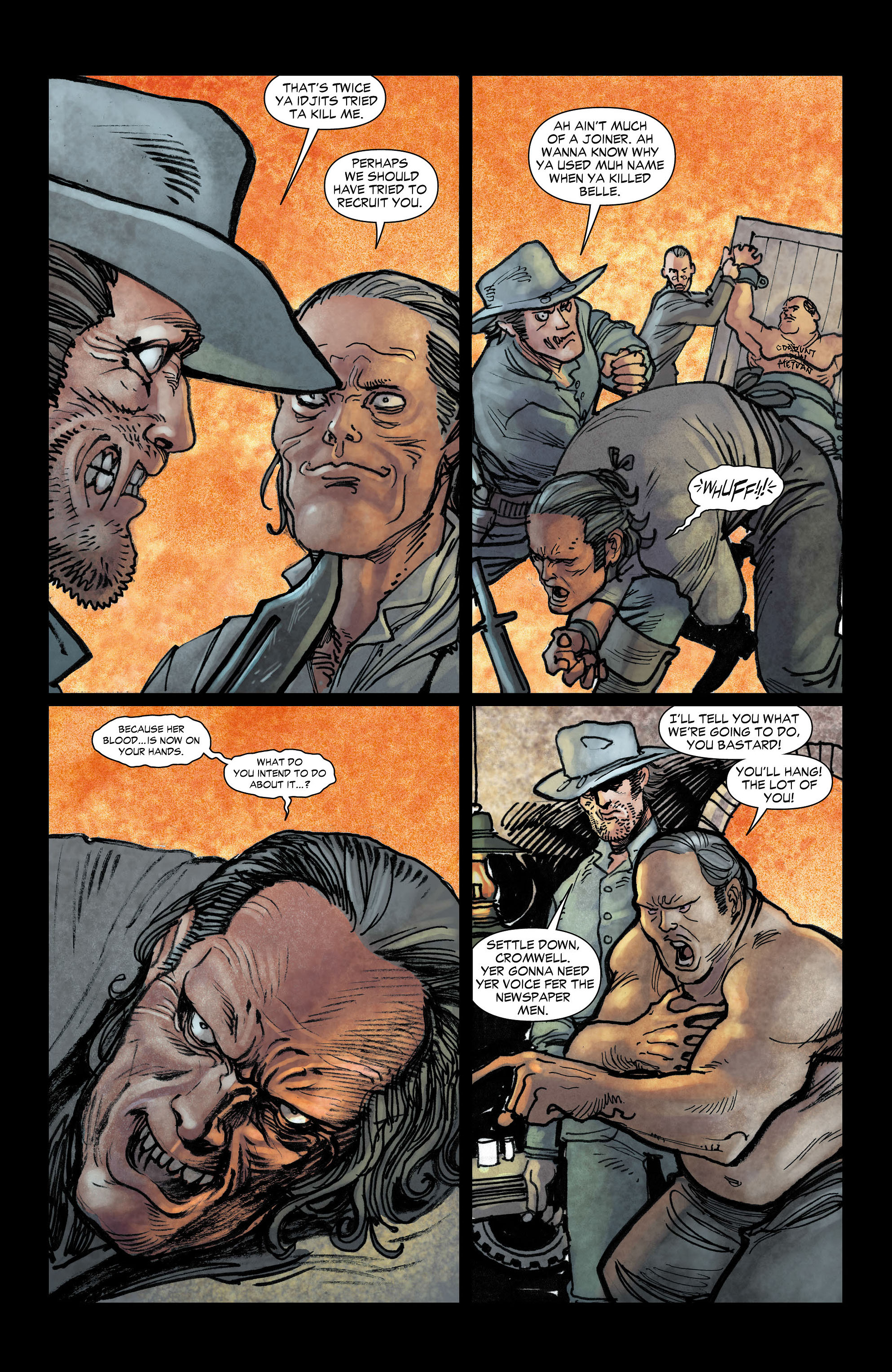 Read online All-Star Western (2011) comic -  Issue #3 - 4