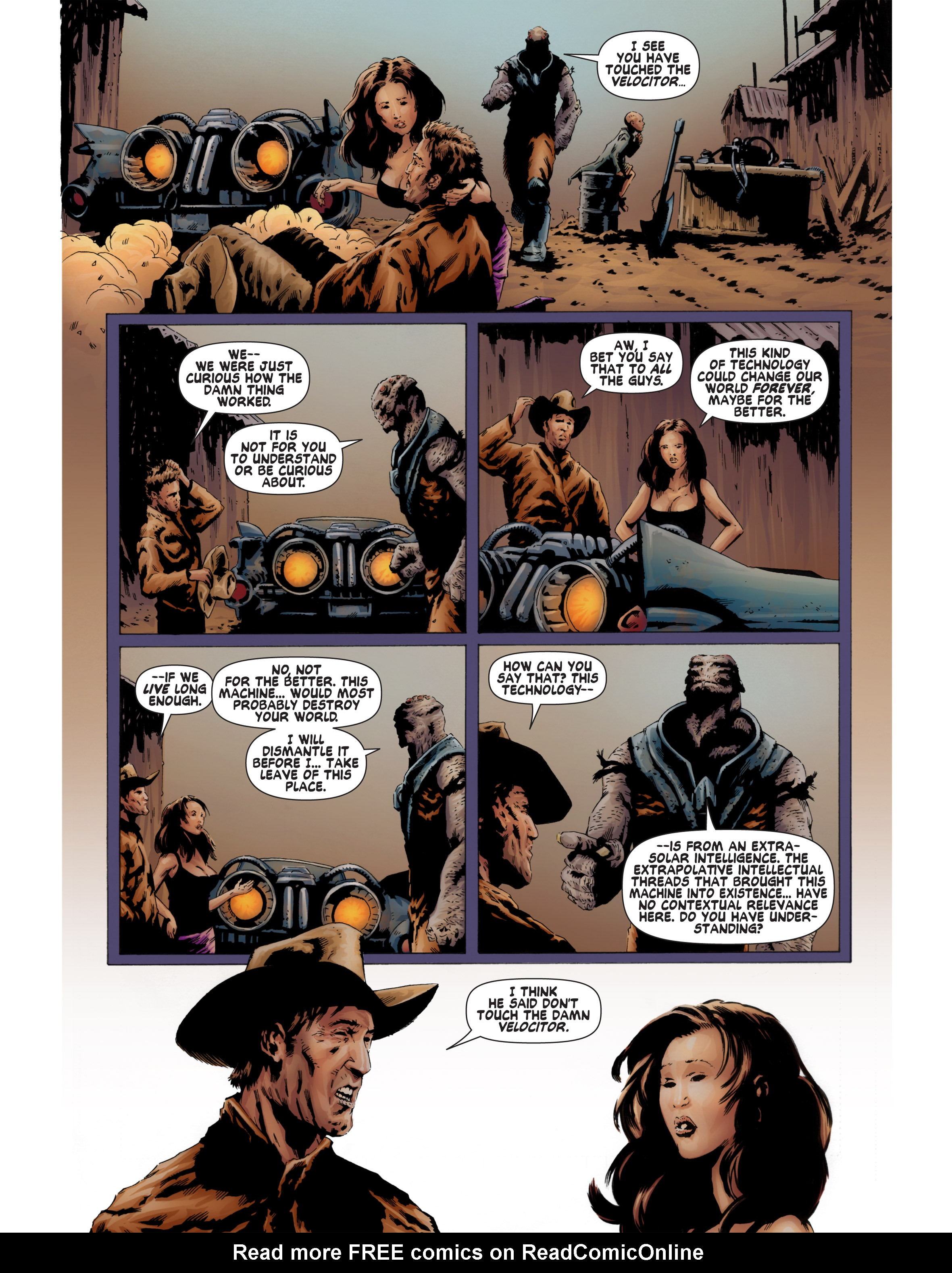 Read online Bad Planet comic -  Issue # TPB - 93