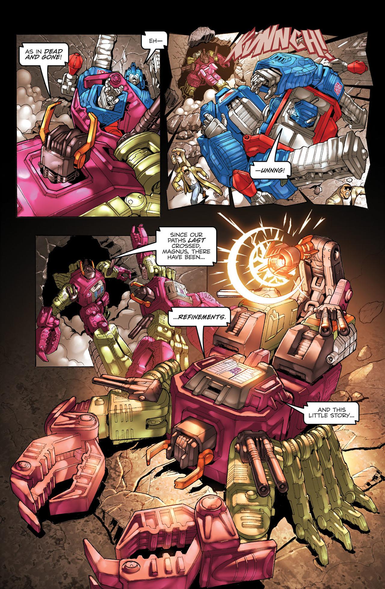 Read online Transformers Spotlight: Ultra Magnus comic -  Issue # Full - 21