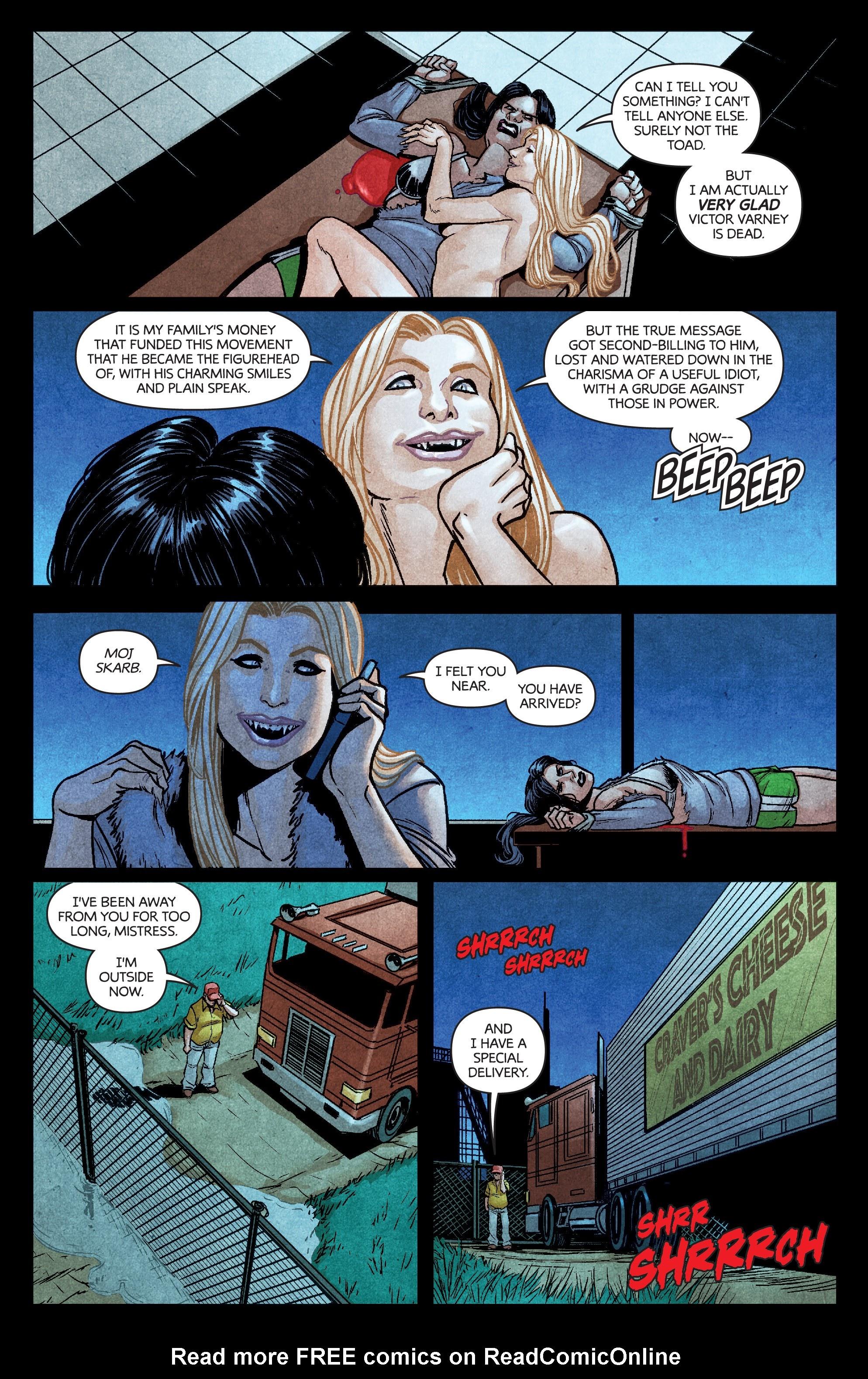 Read online Dark Red comic -  Issue #4 - 13