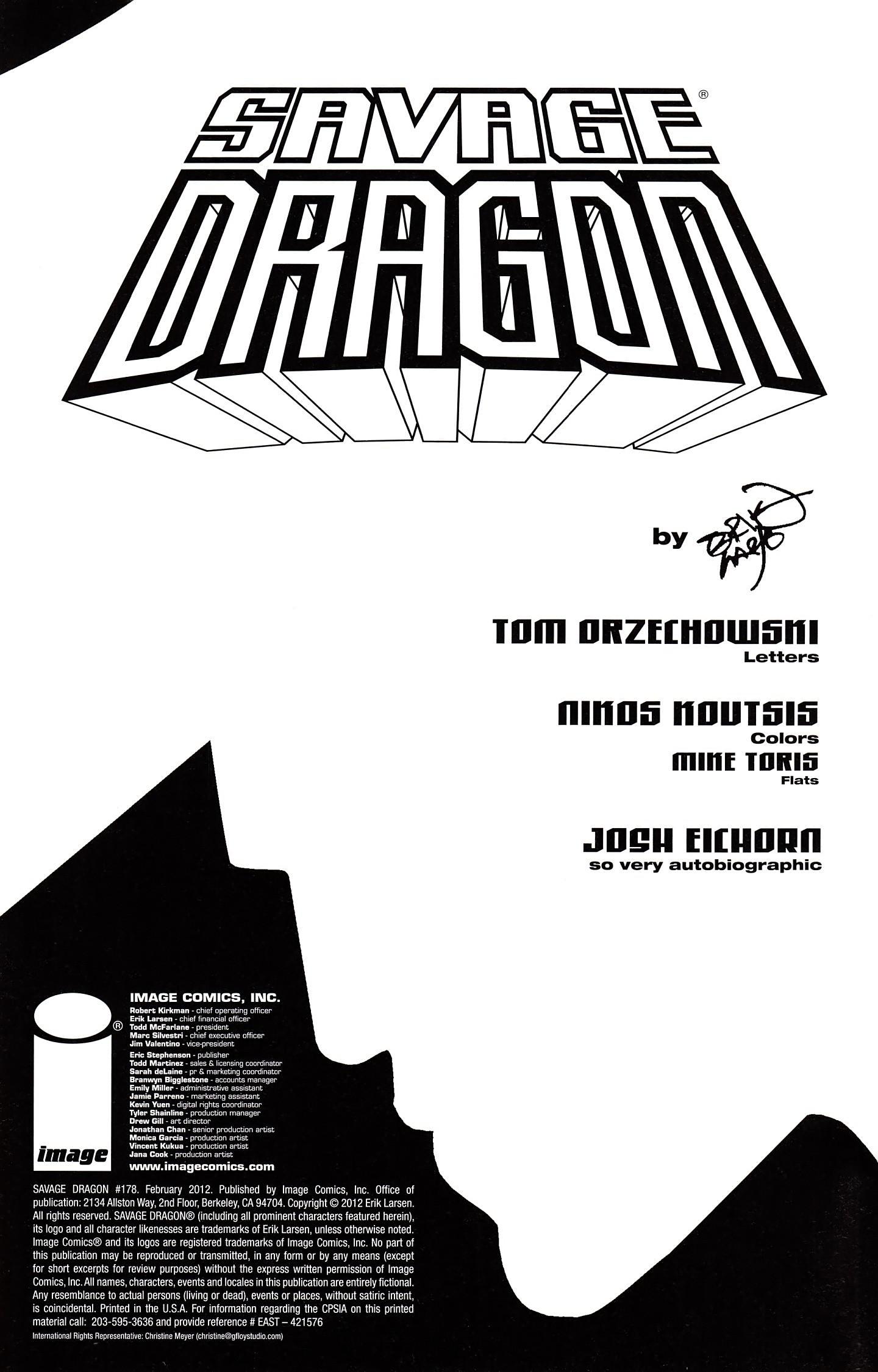 The Savage Dragon (1993) 178 Page 2
