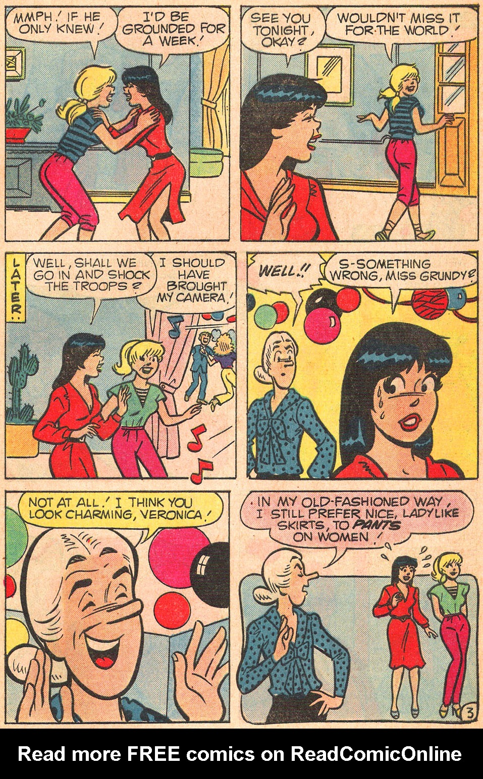 Read online Archie's Girls Betty and Veronica comic -  Issue #309 - 29