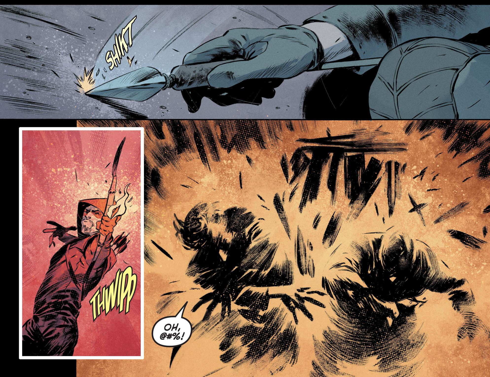 Read online Arrow [II] comic -  Issue #12 - 18