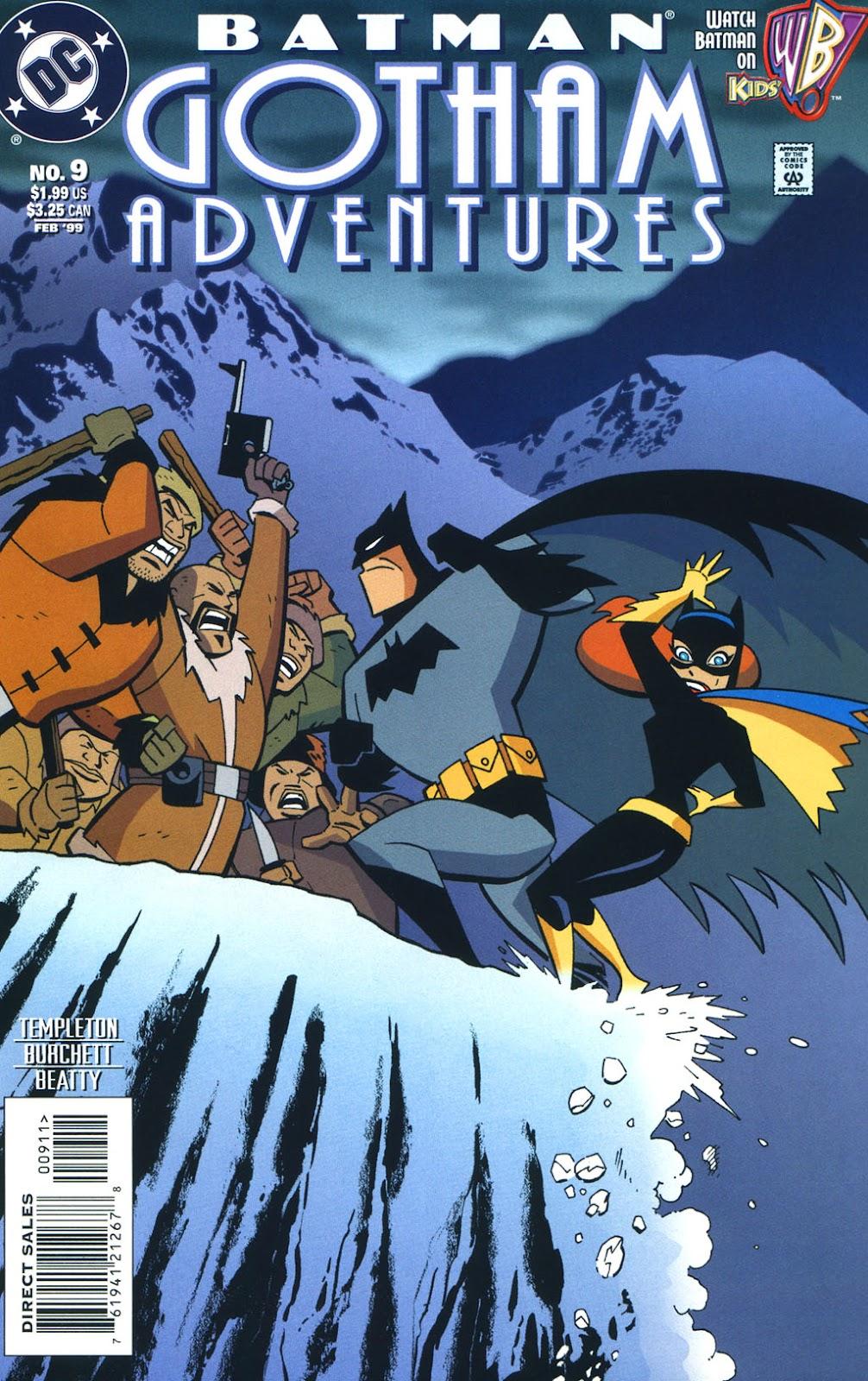 Batman: Gotham Adventures issue 9 - Page 1