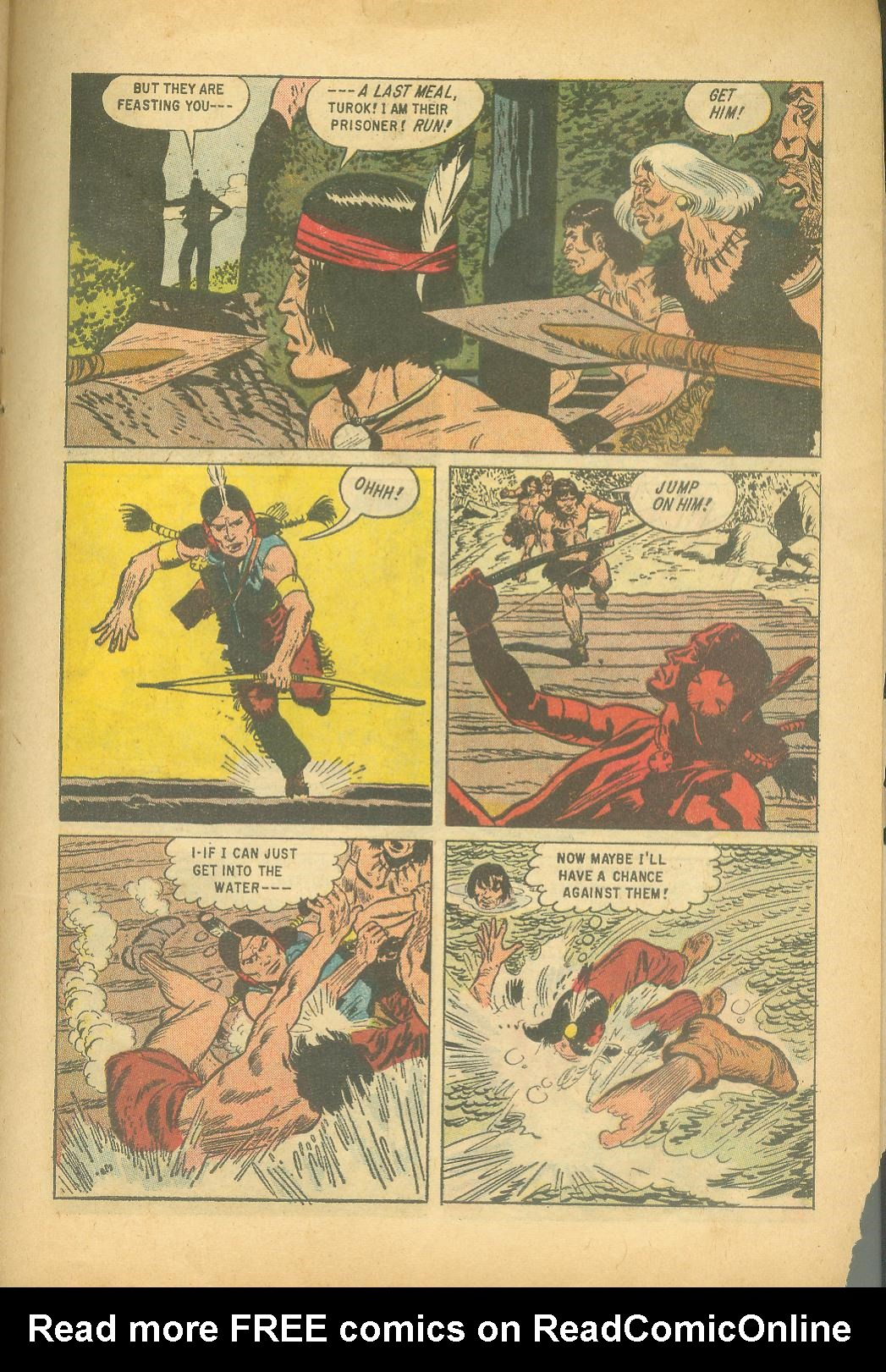 Read online Turok, Son of Stone comic -  Issue #18 - 27