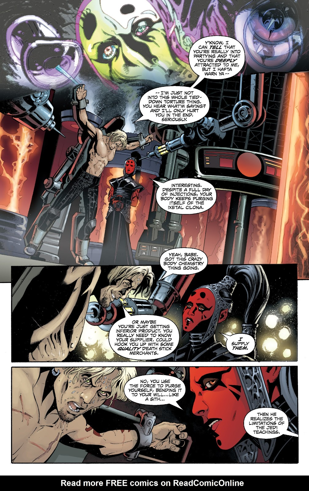 Read online Star Wars Legends: Legacy - Epic Collection comic -  Issue # TPB 1 (Part 4) - 50
