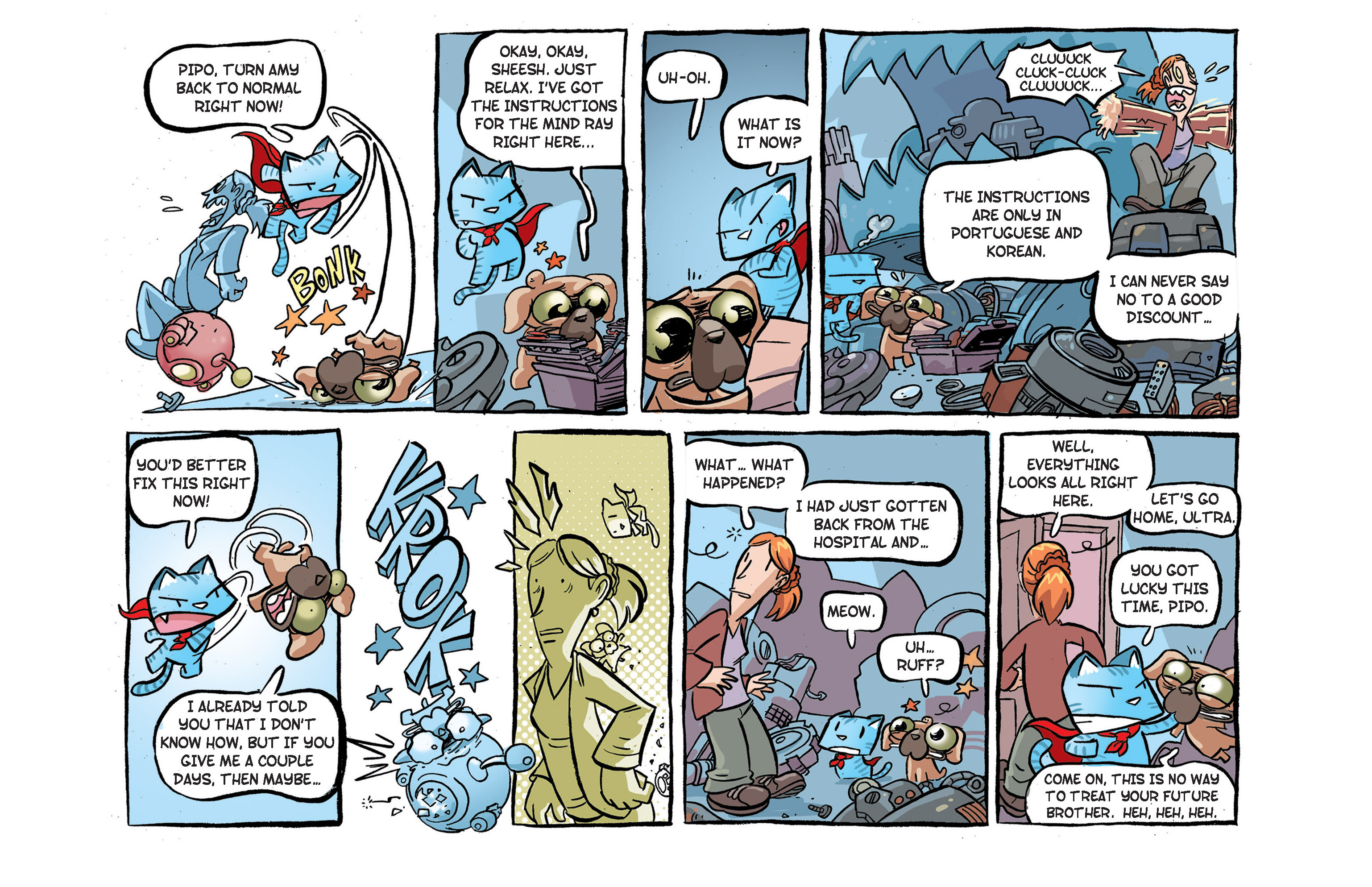 Read online Ultracat comic -  Issue #2 - 16