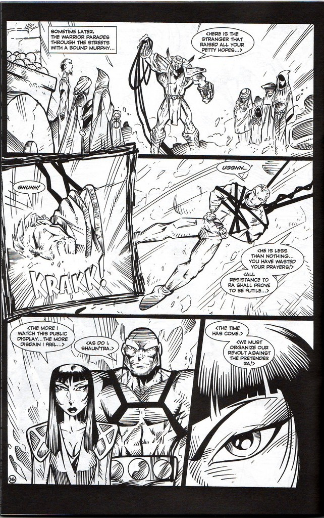 Read online Stargate: One Nation Under Ra comic -  Issue # Full - 18