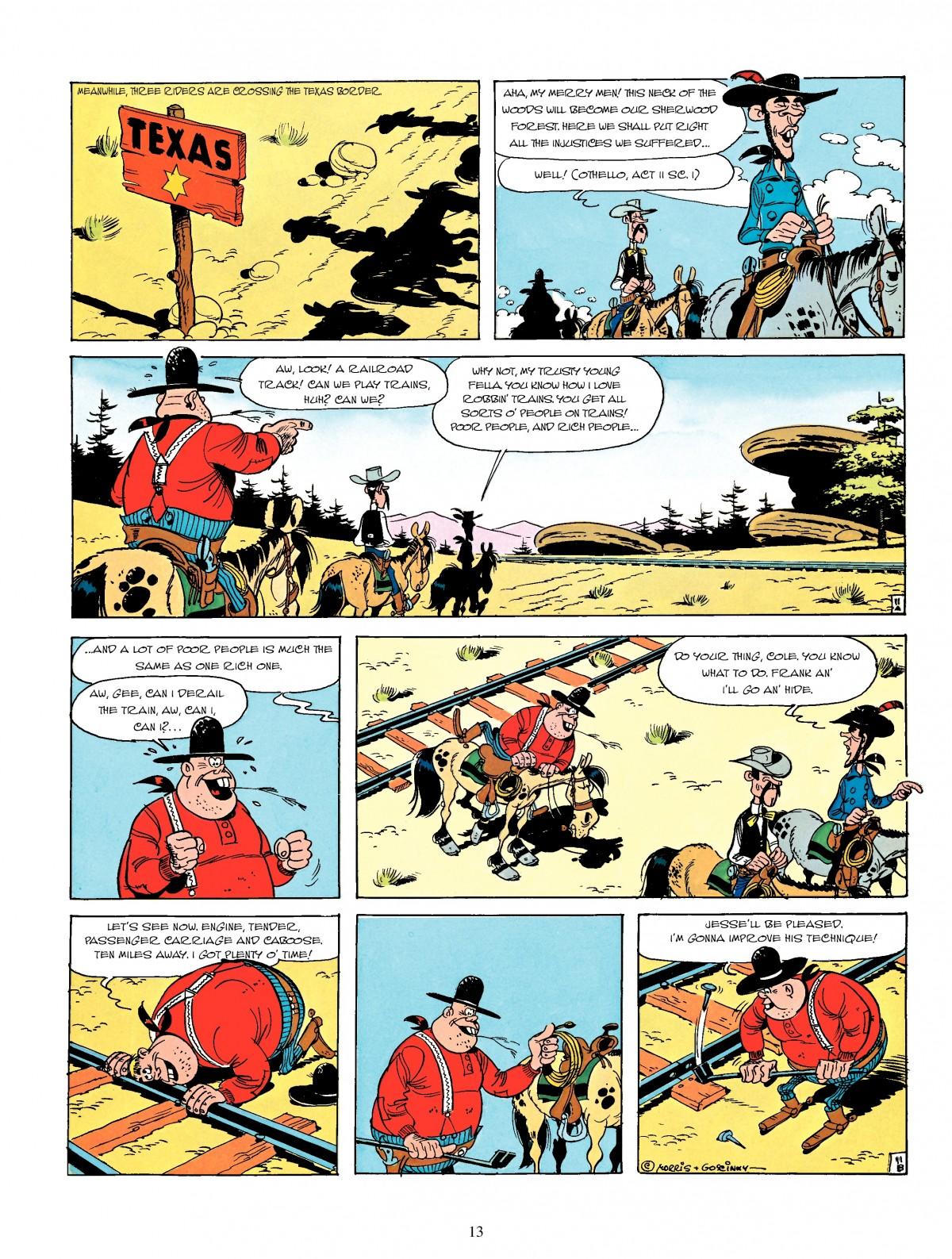 Read online A Lucky Luke Adventure comic -  Issue #4 - 15
