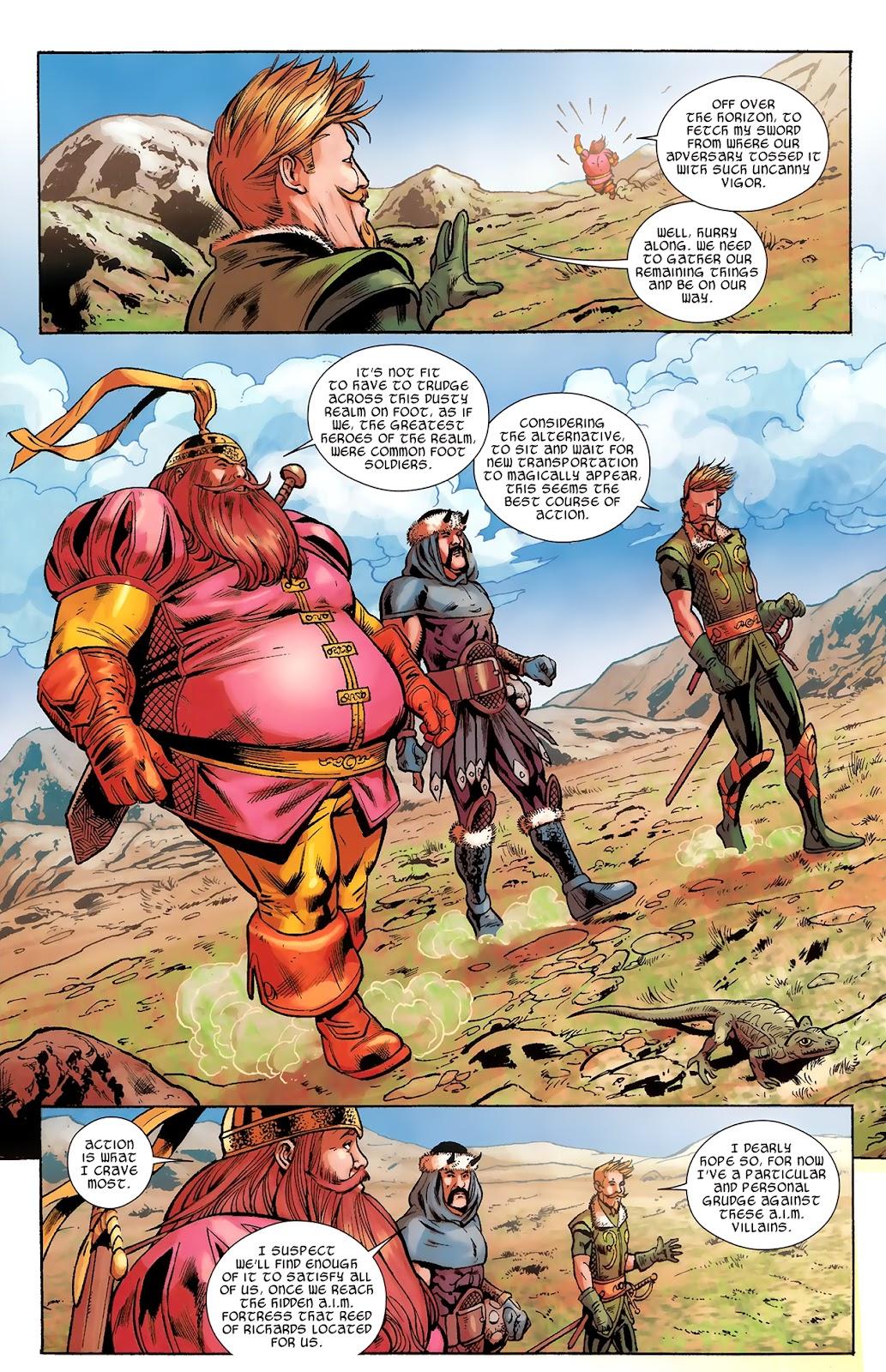 Warriors Three Issue #3 #3 - English 5